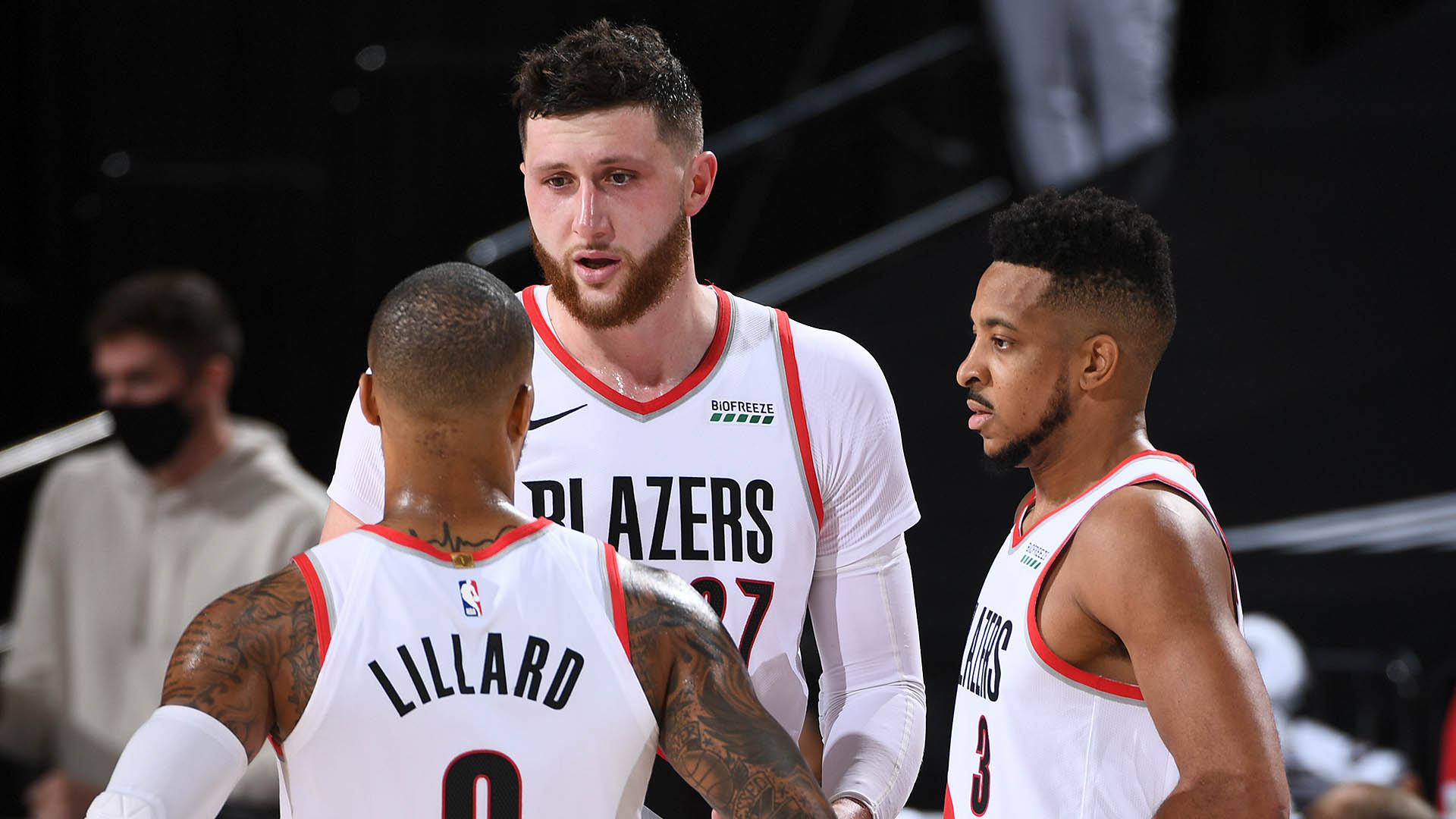 Nuggets continue to shred Blazers with Jusuf Nurkic off the floor