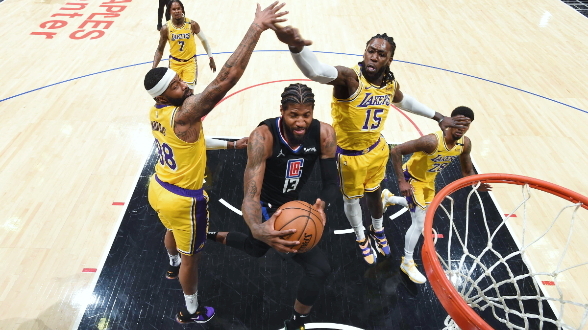Clippers cruise past Lakers in potential playoff matchup