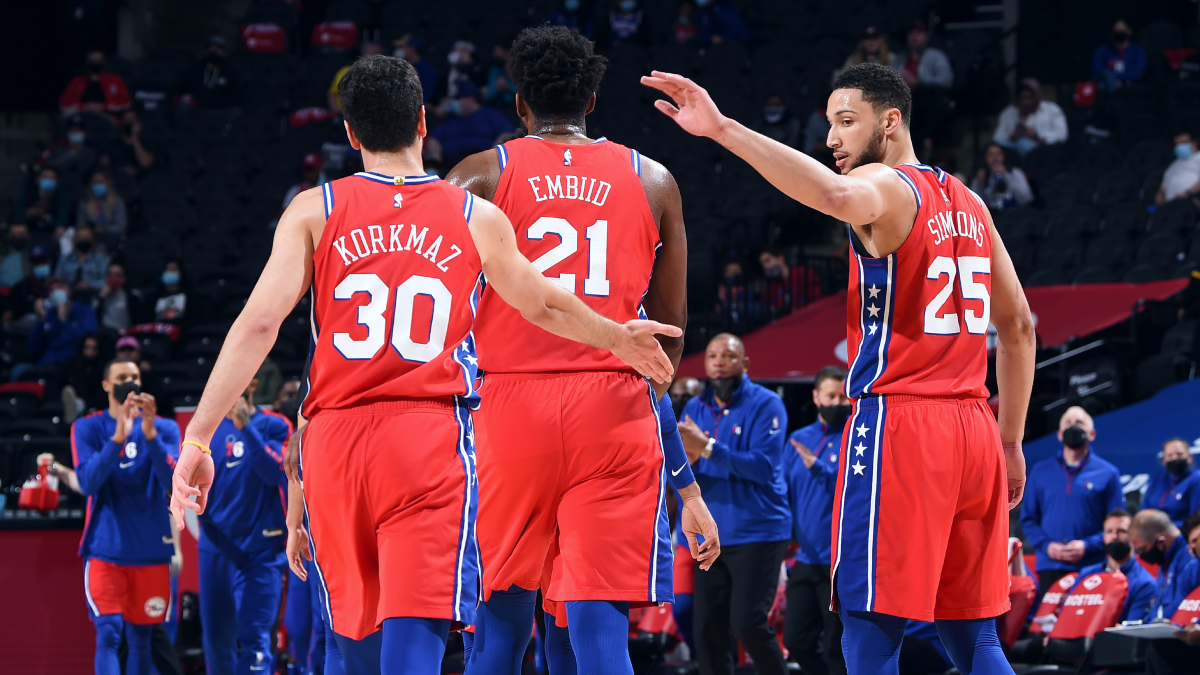 Process complete? 76ers clinch No. 1 seed in East