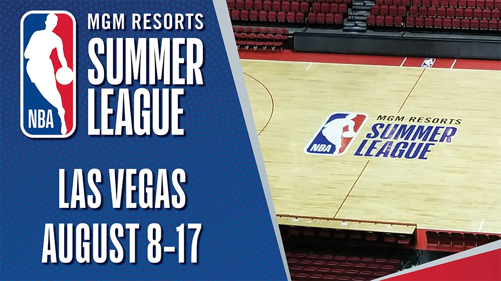 MGM Resorts NBA Summer League 2021 returns to Las Vegas in August