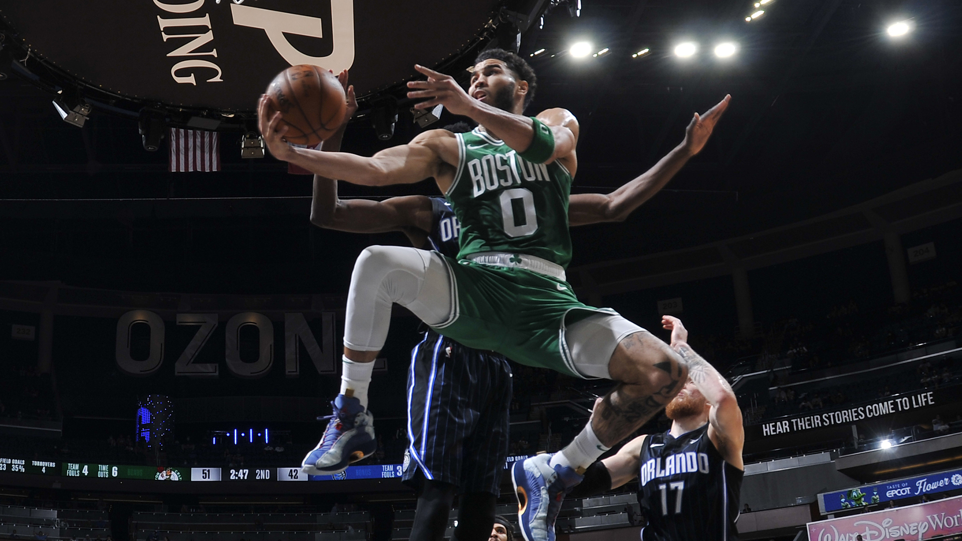 Celtics cruise past Magic, climb to No. 6 seed in East