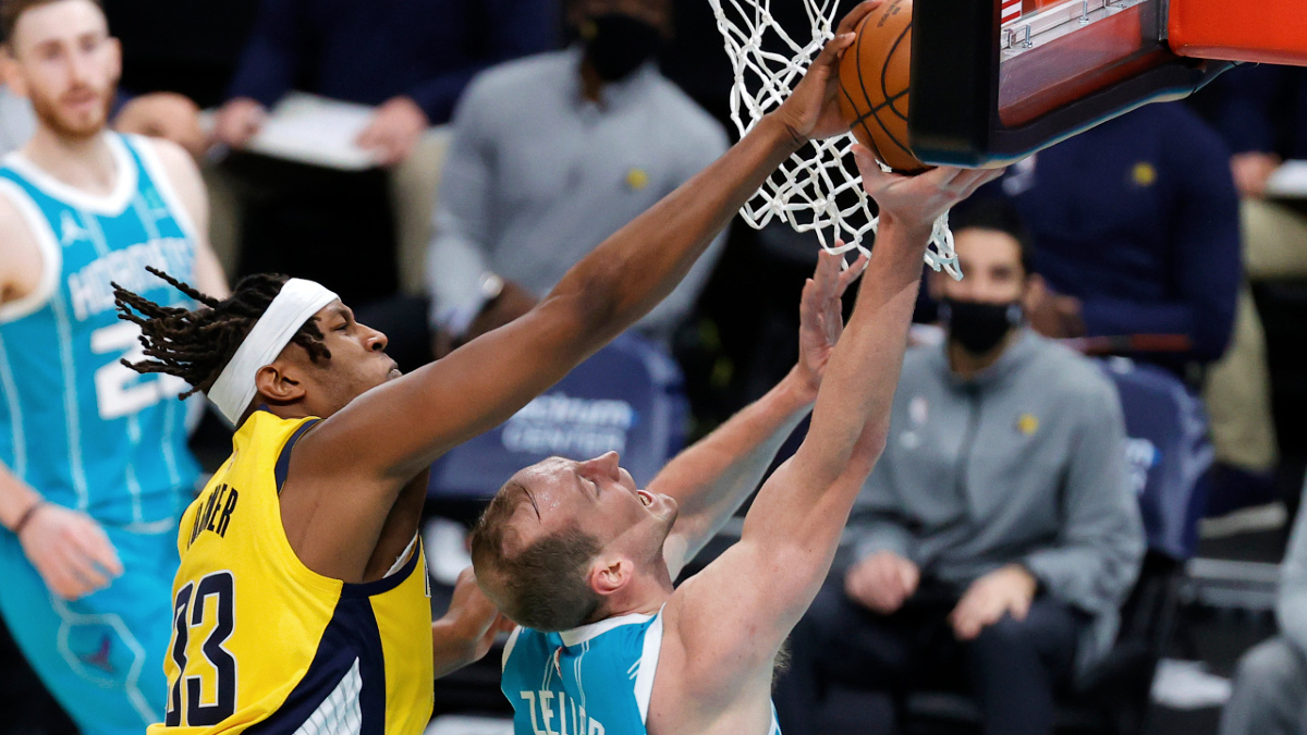 Upon further review, Myles Turner wins 2020-21 blocked-shot season title