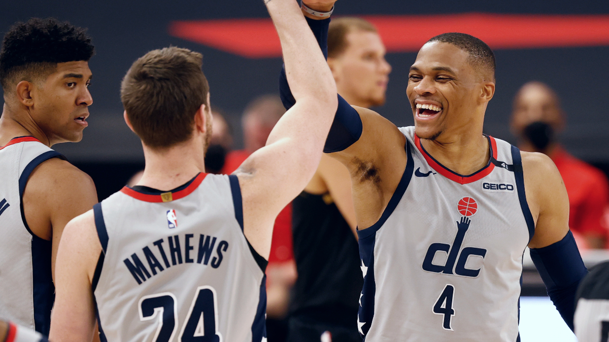 Westbrook continues triple-double binge in OT victory
