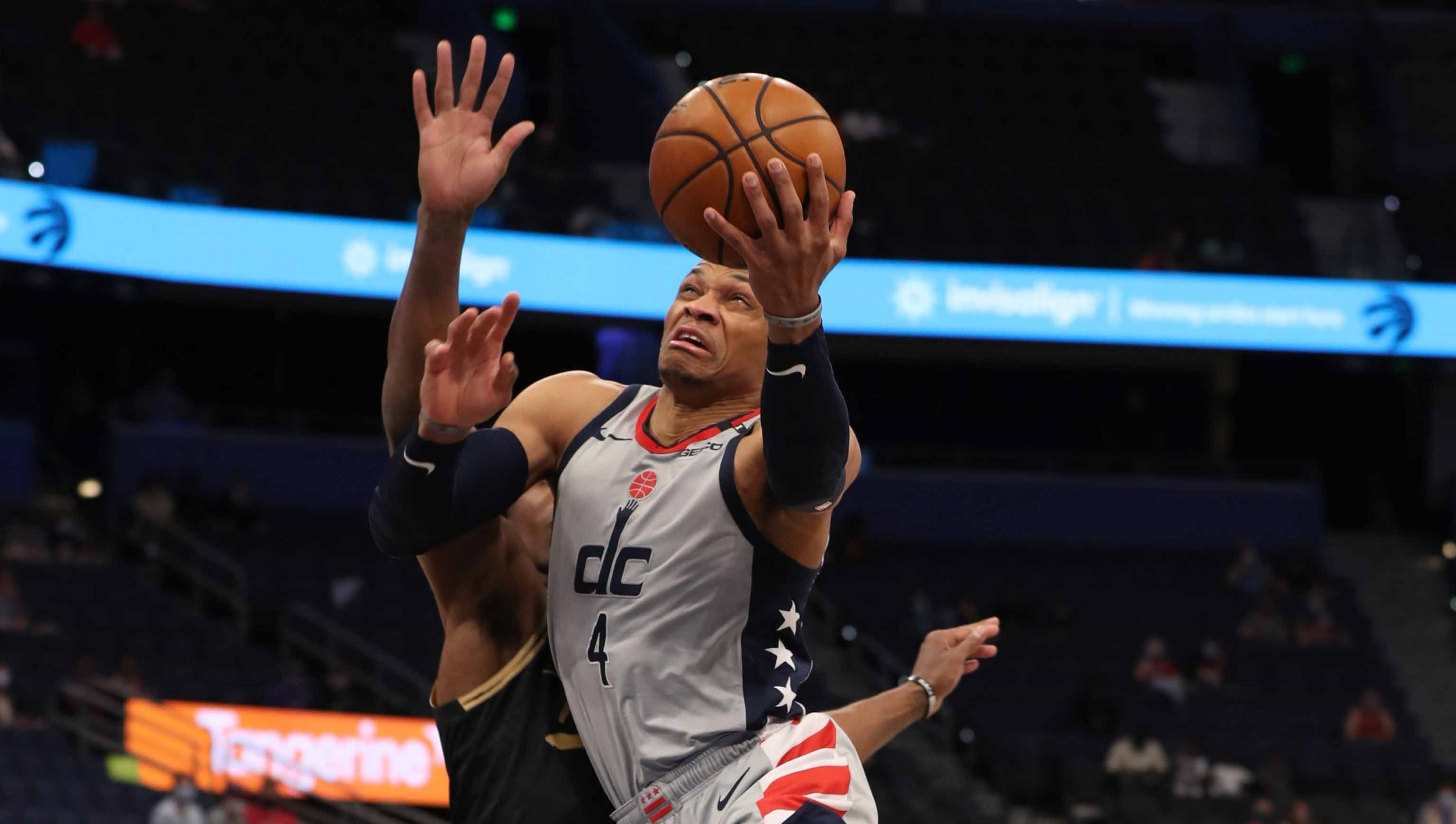 Russell Westbrook basks in milestone moment