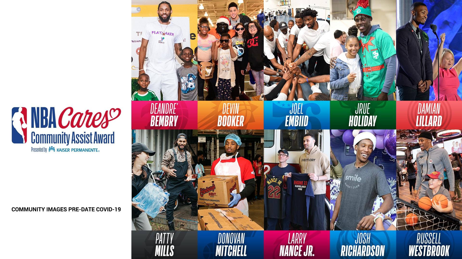 Vote for the 2020-21 NBA Cares Seasonlong Community Assist Award