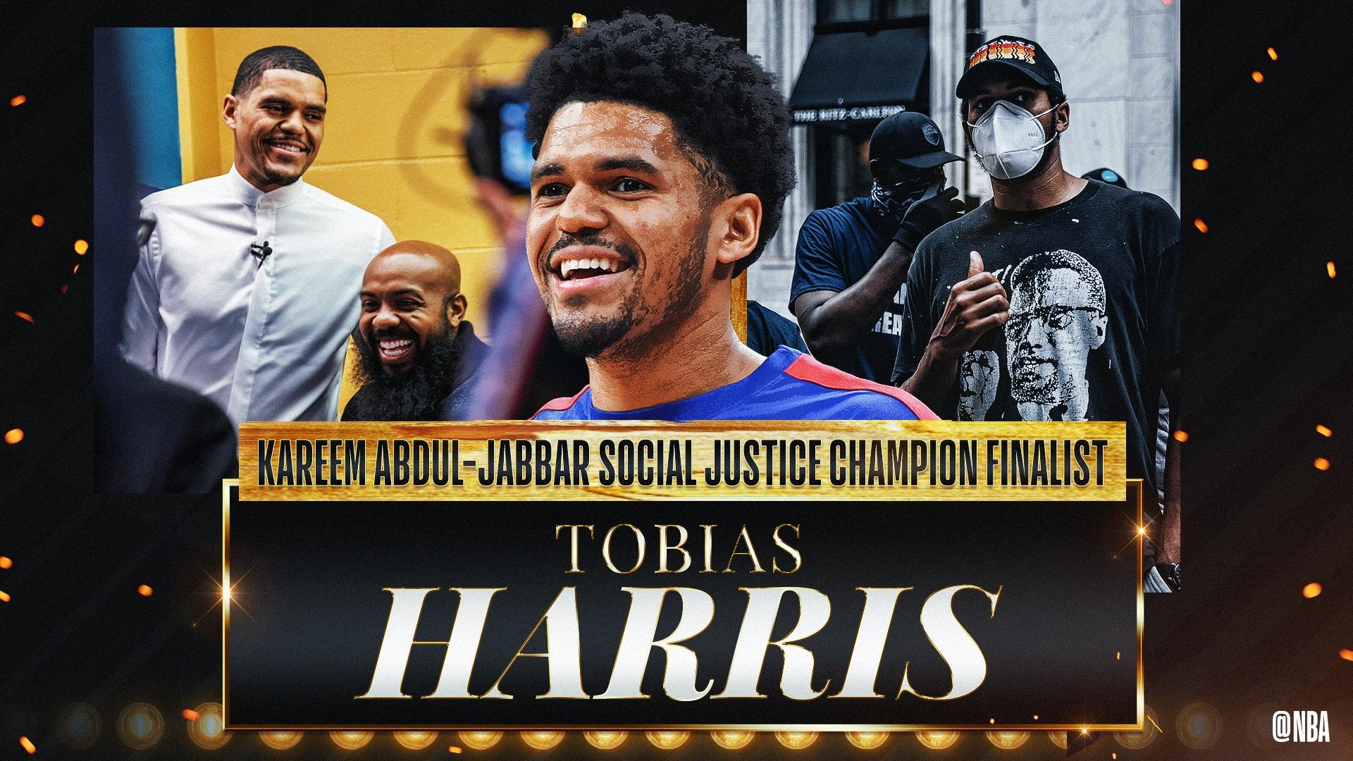 Kareem Abdul-Jabbar Social Justice Champion Finalist: Tobias Harris