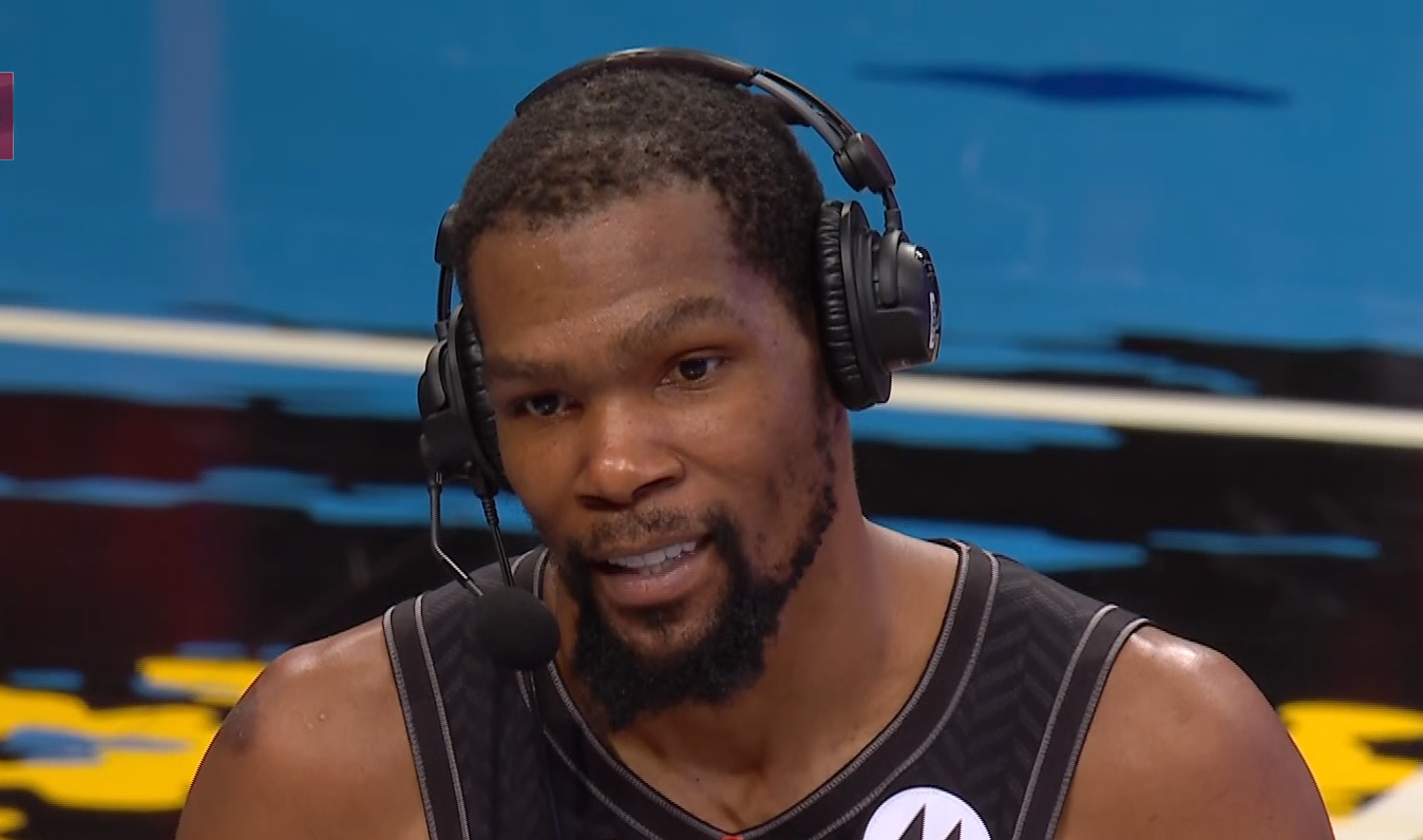 Durant: 'I wasn't planning on playing every minute'