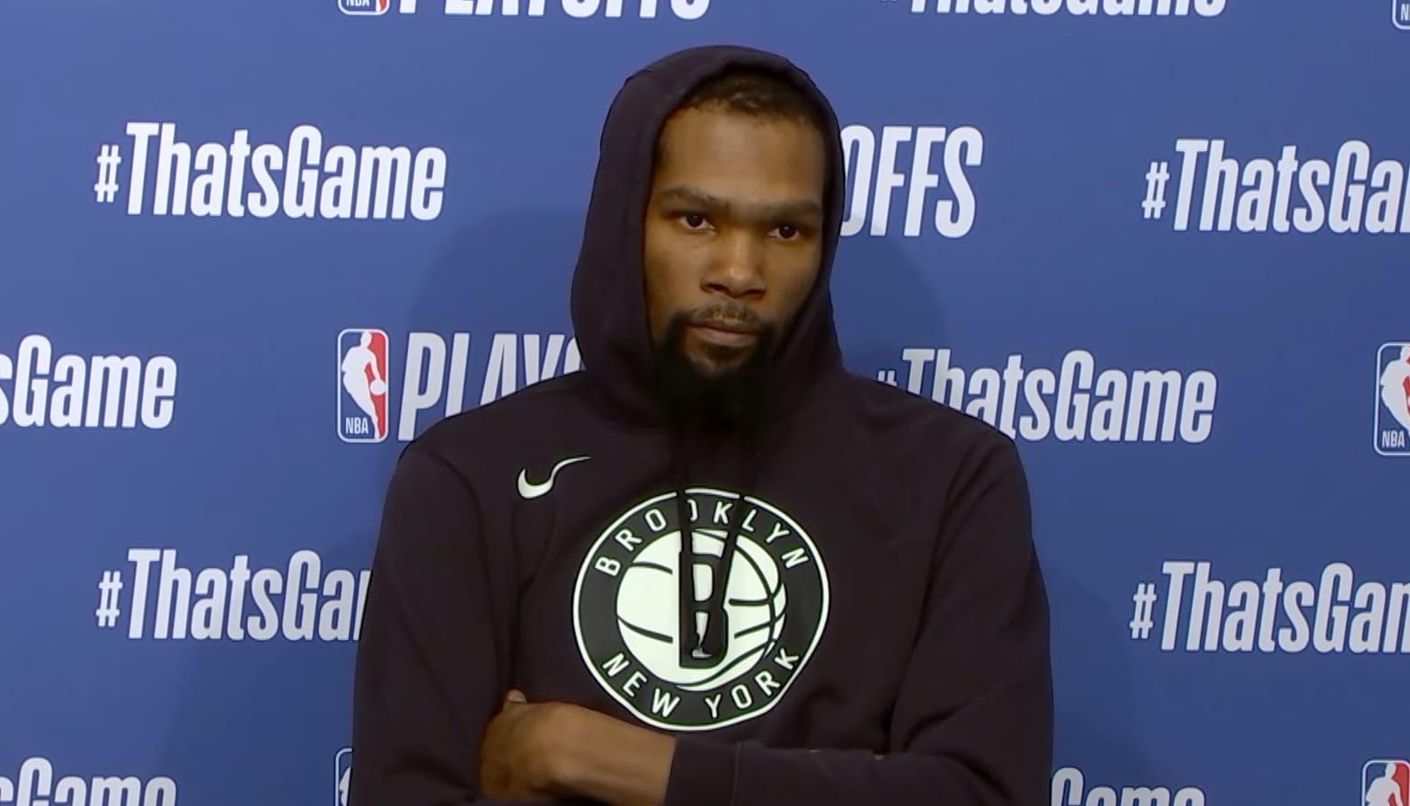 Kevin Durant praises Bucks after tough Game 7 loss