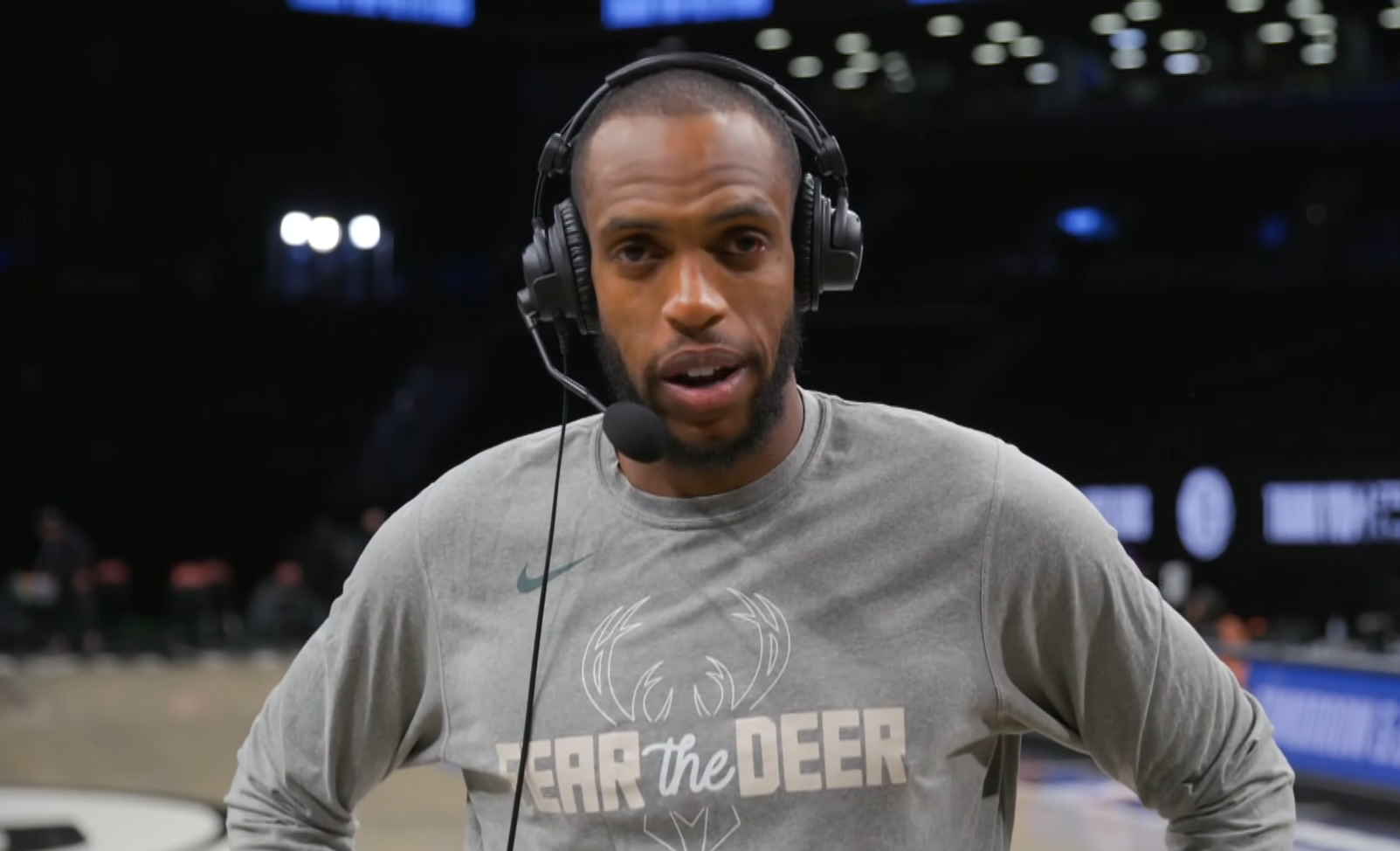 Khris Middleton: 'Never played in a game like this'