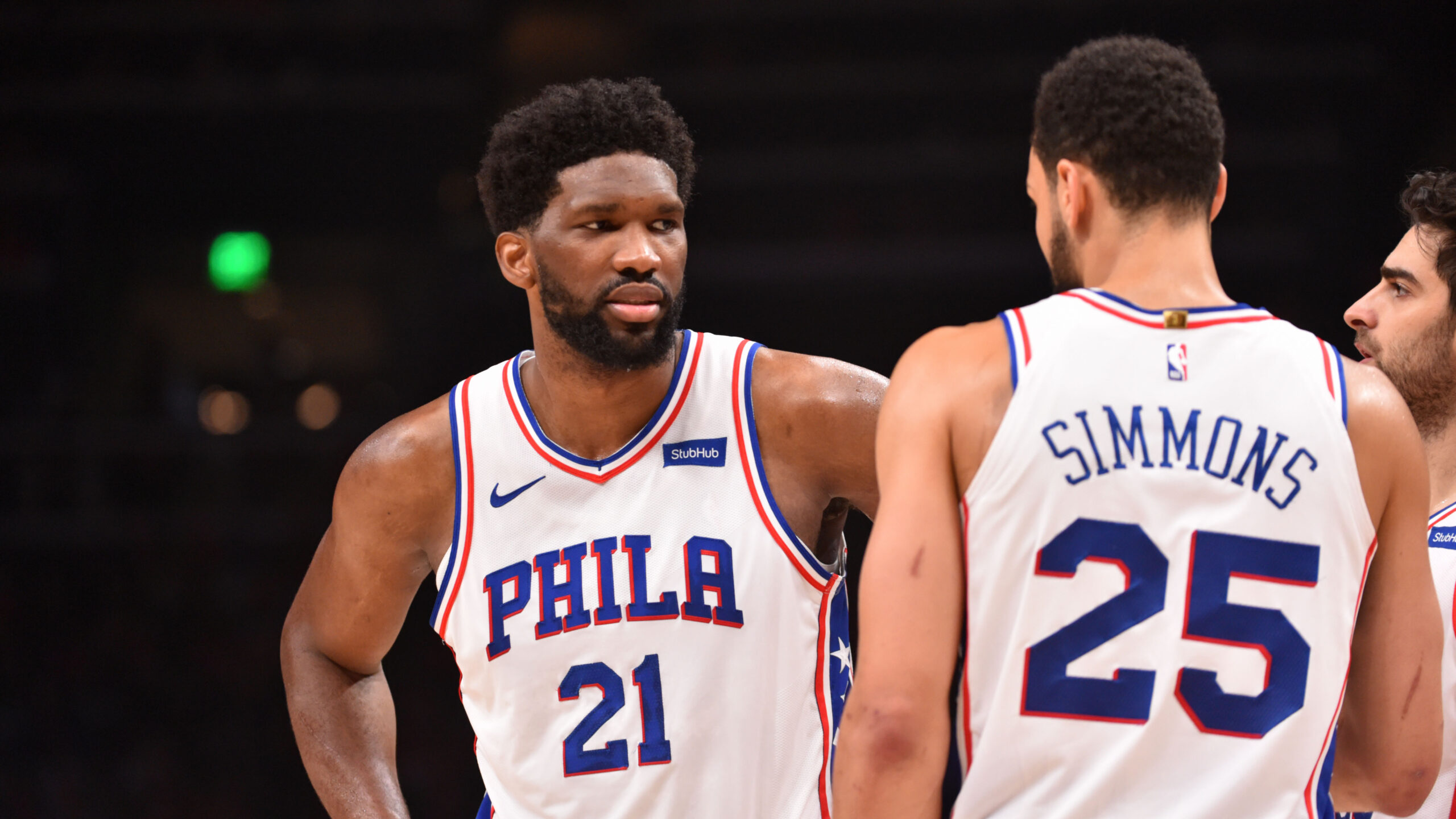 Embiid notes Simmons' lack of aggressiveness after Game 7