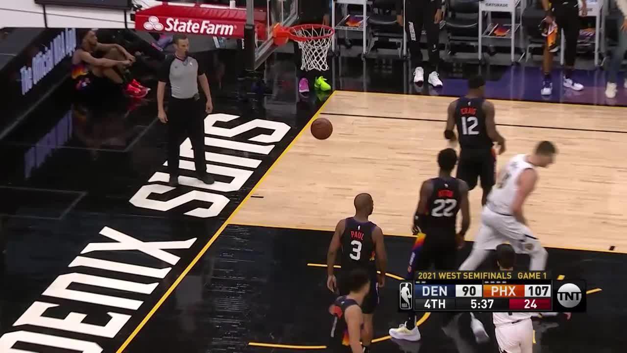 JaMychal Green Posts 10 points & 11 rebounds vs. Phoenix Suns