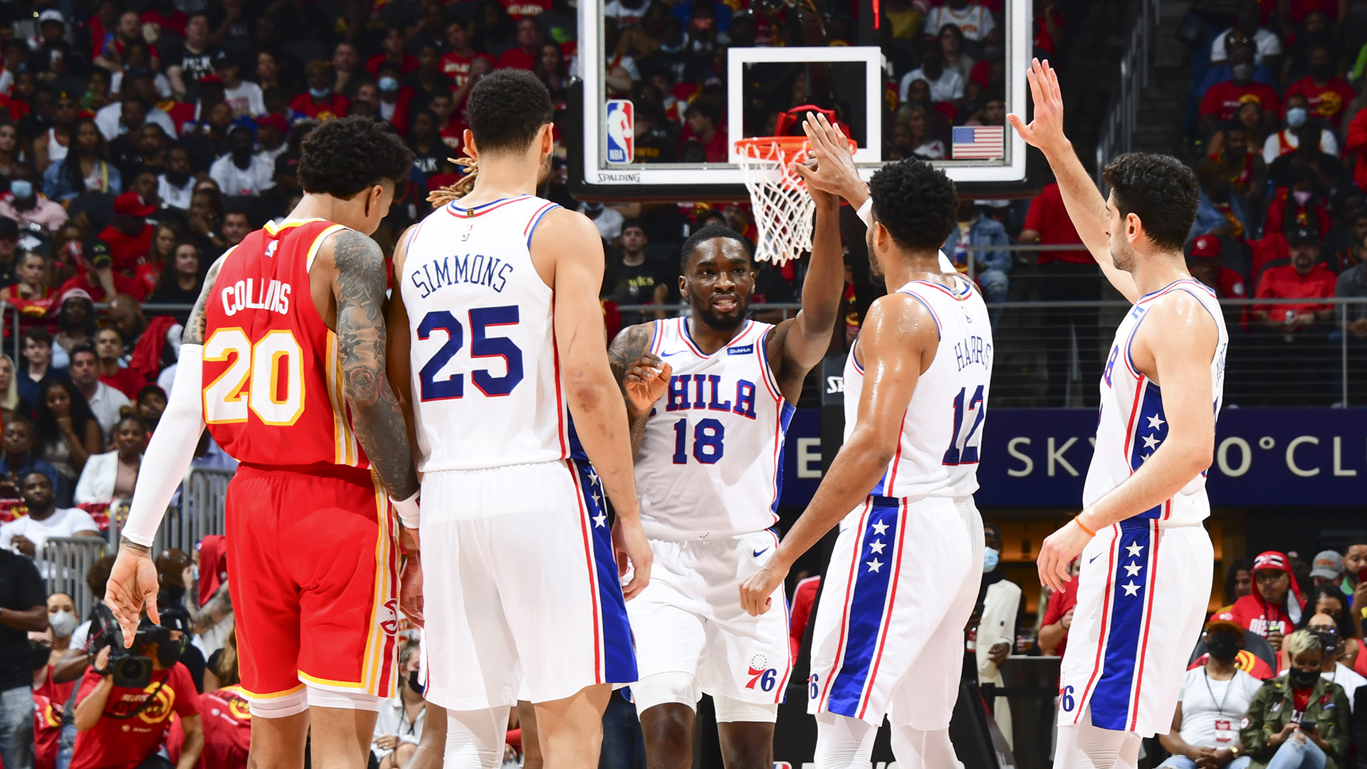 76ers use balanced attack to rout Hawks, take series lead