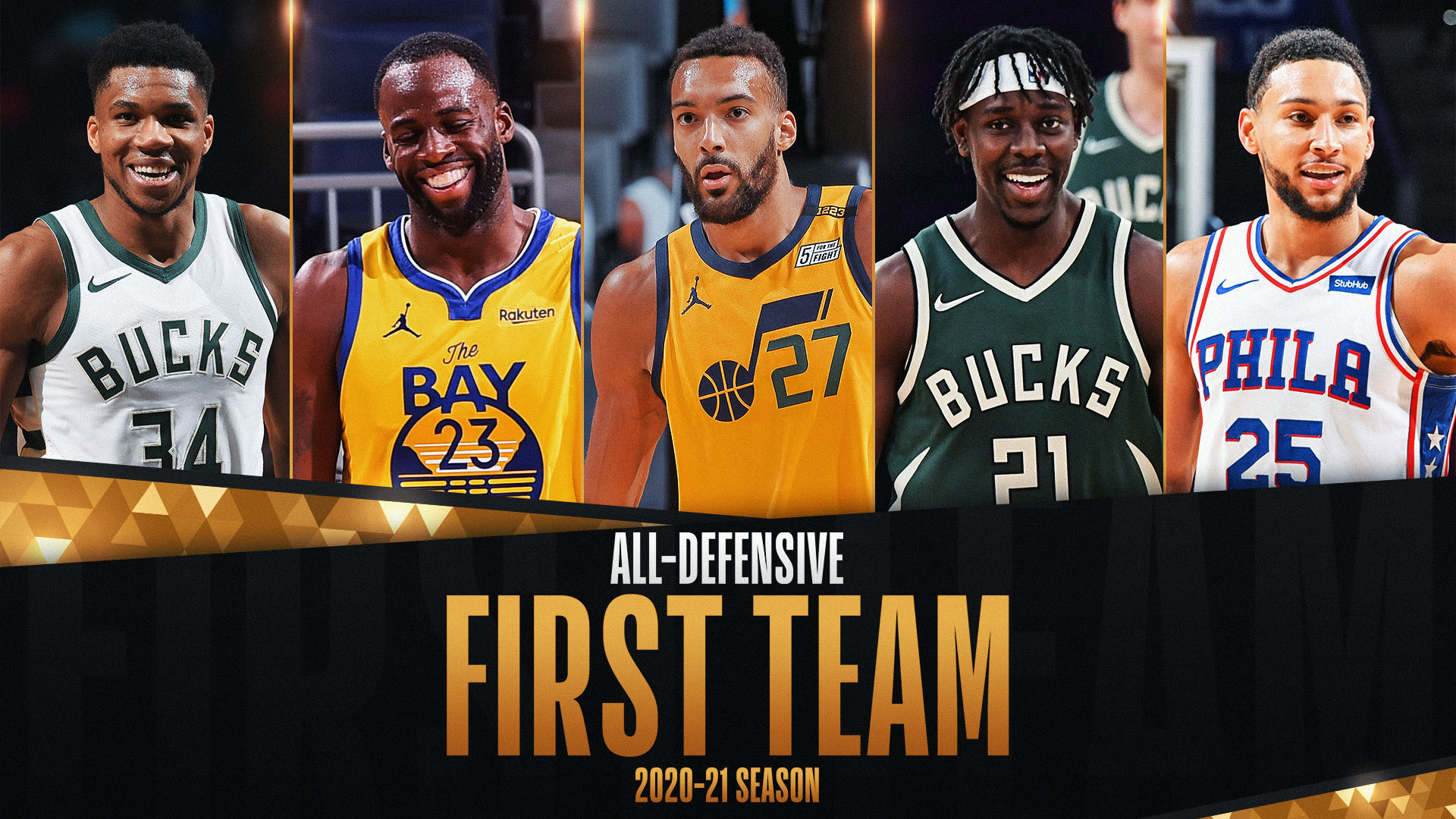 NBA announces 2020-21 All-Defensive First and Second teams