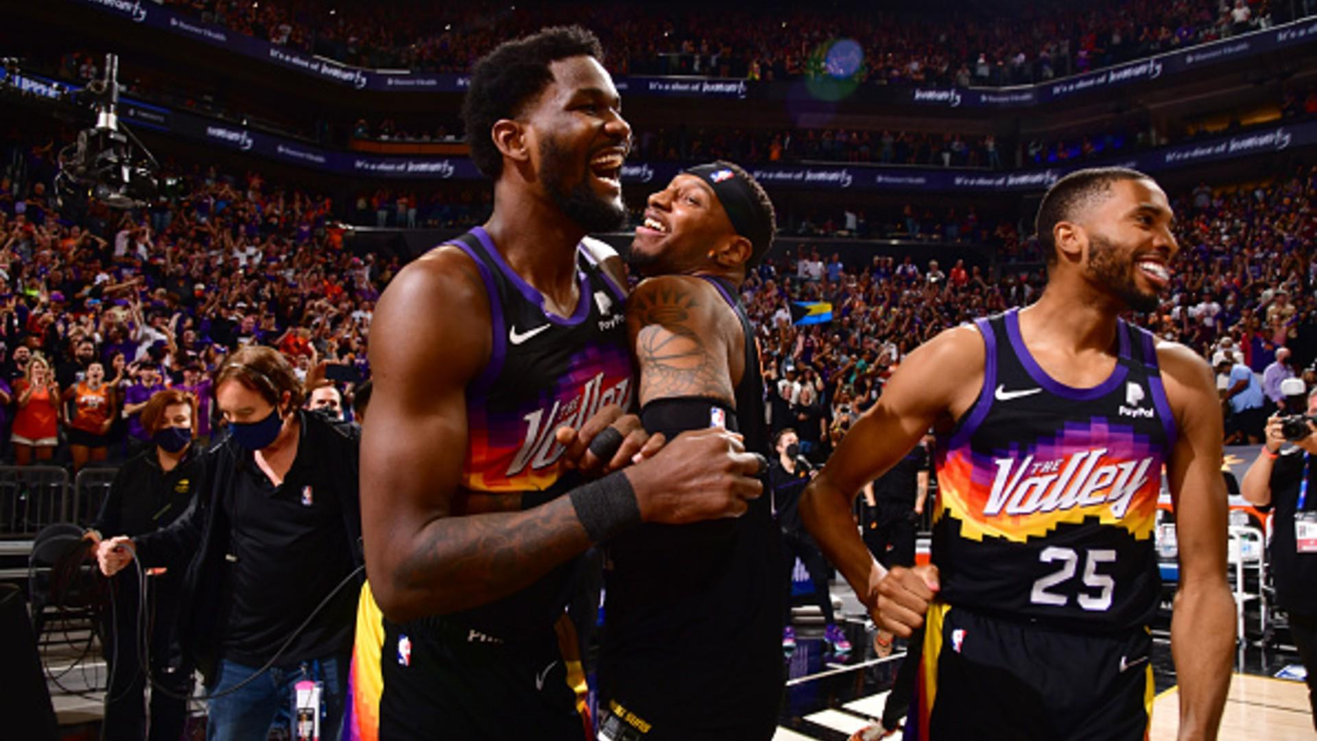 Deandre Ayton pushes Suns to Game 2 win