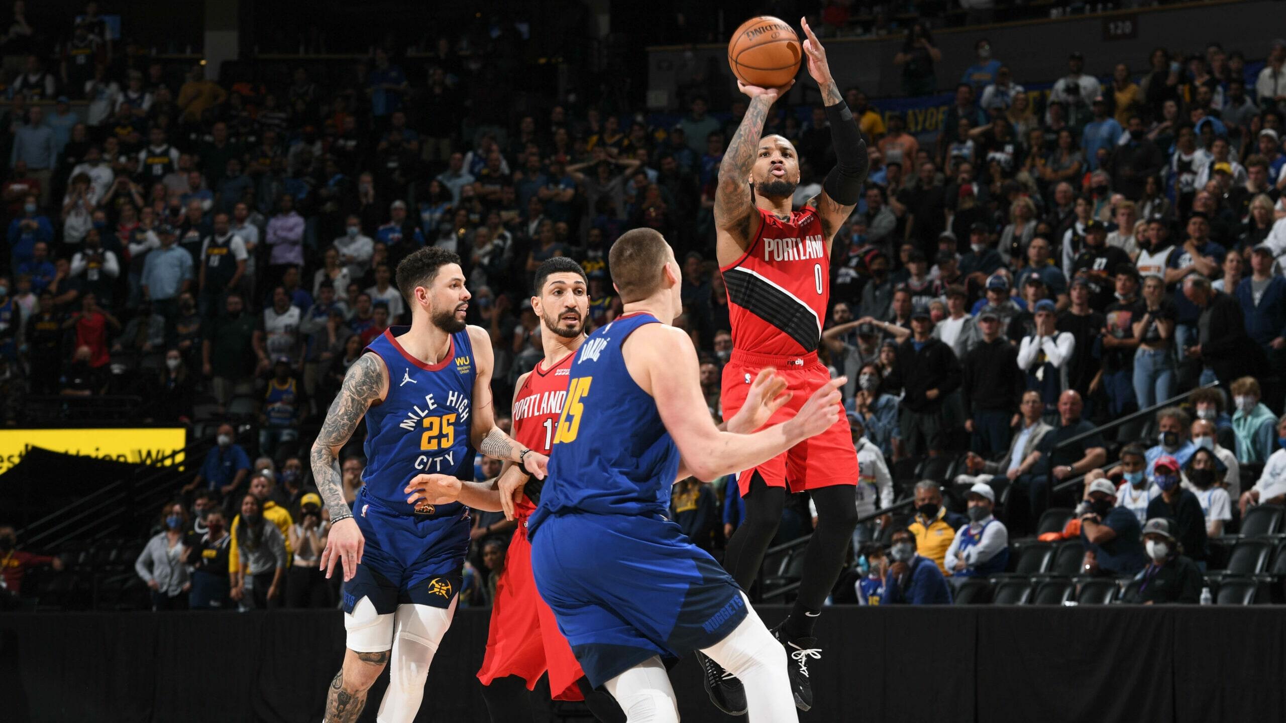 NBA players react to Damian Lillard's 55-point performance