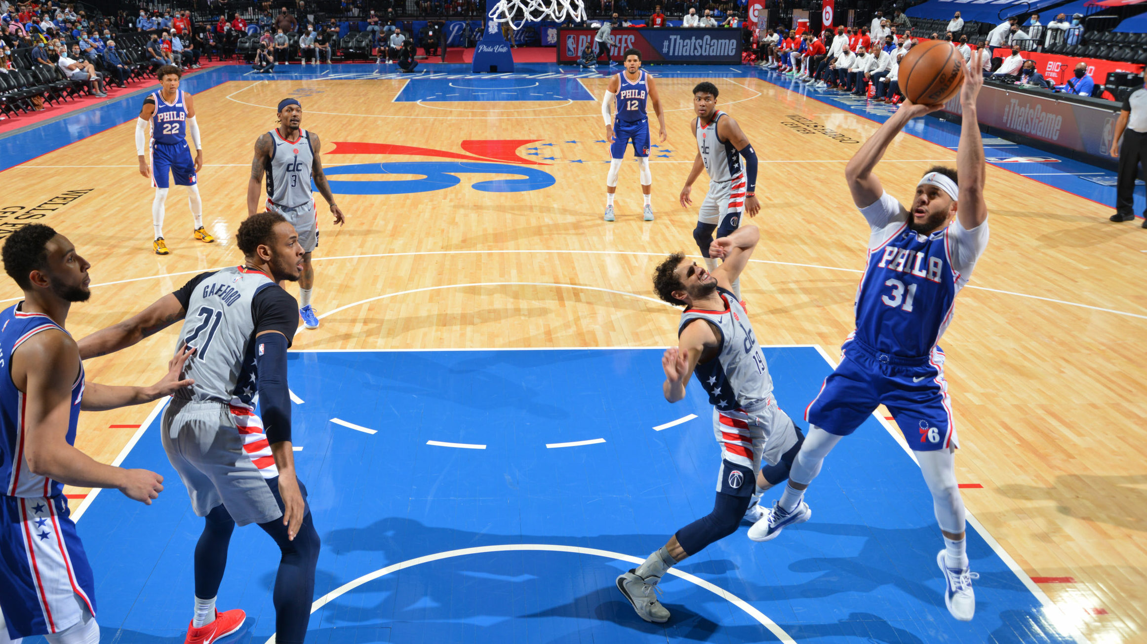 Sixers finish off Wizards with Game 5 win