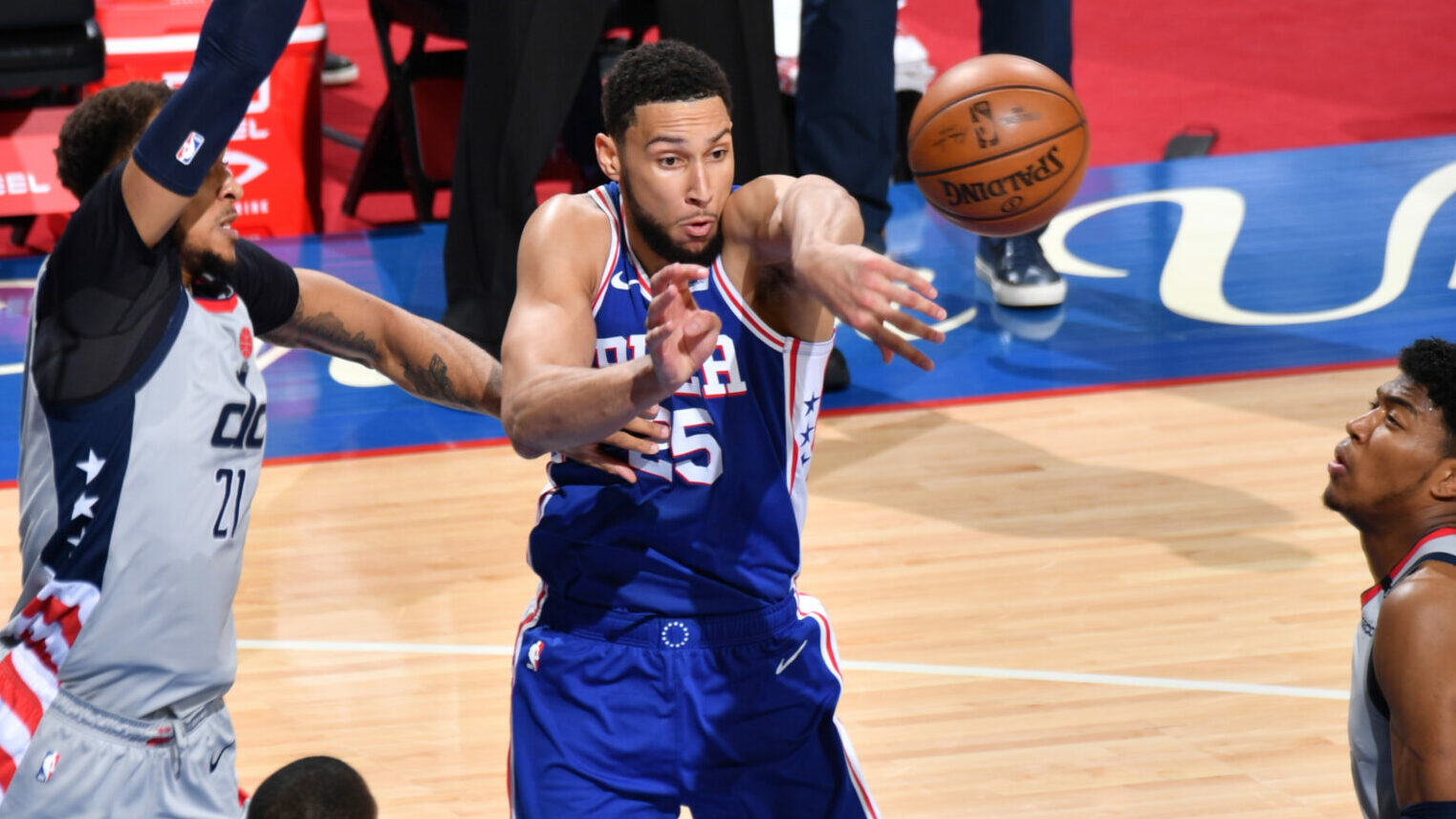 Ben Simmons Posts 19 points & 11 assists vs. Washington Wizards