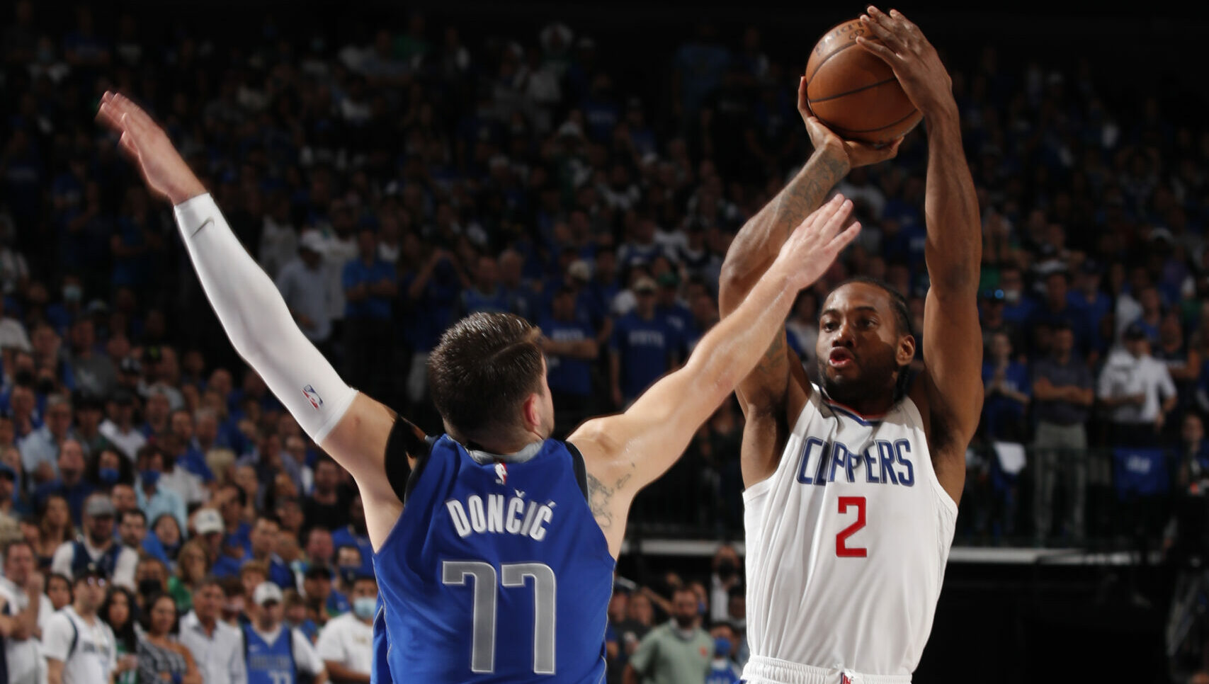 Clippers force Game 7 behind Kawhi Leonard's playoff-high-tying 45 points