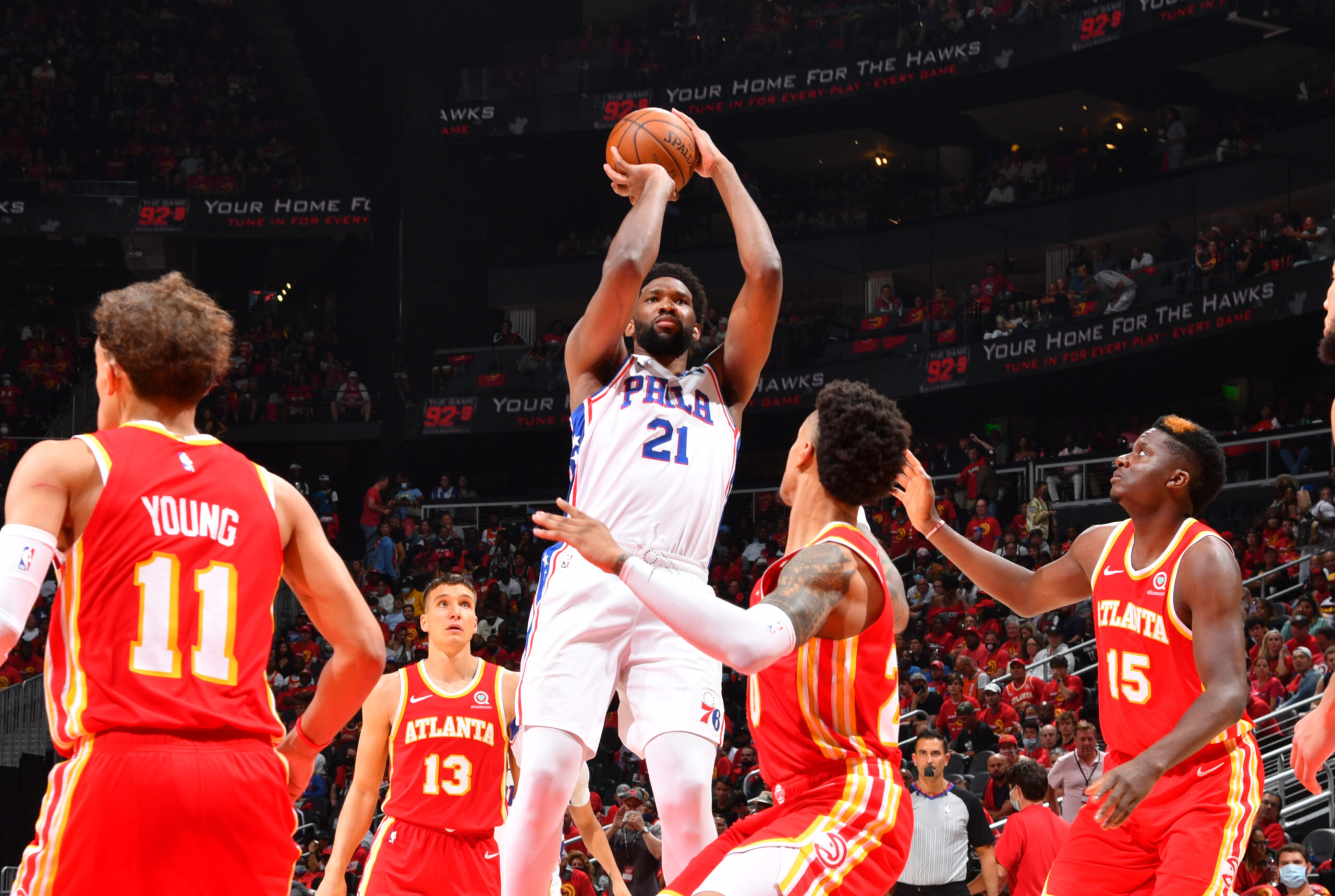 Embiid meeting more defense with more dominance