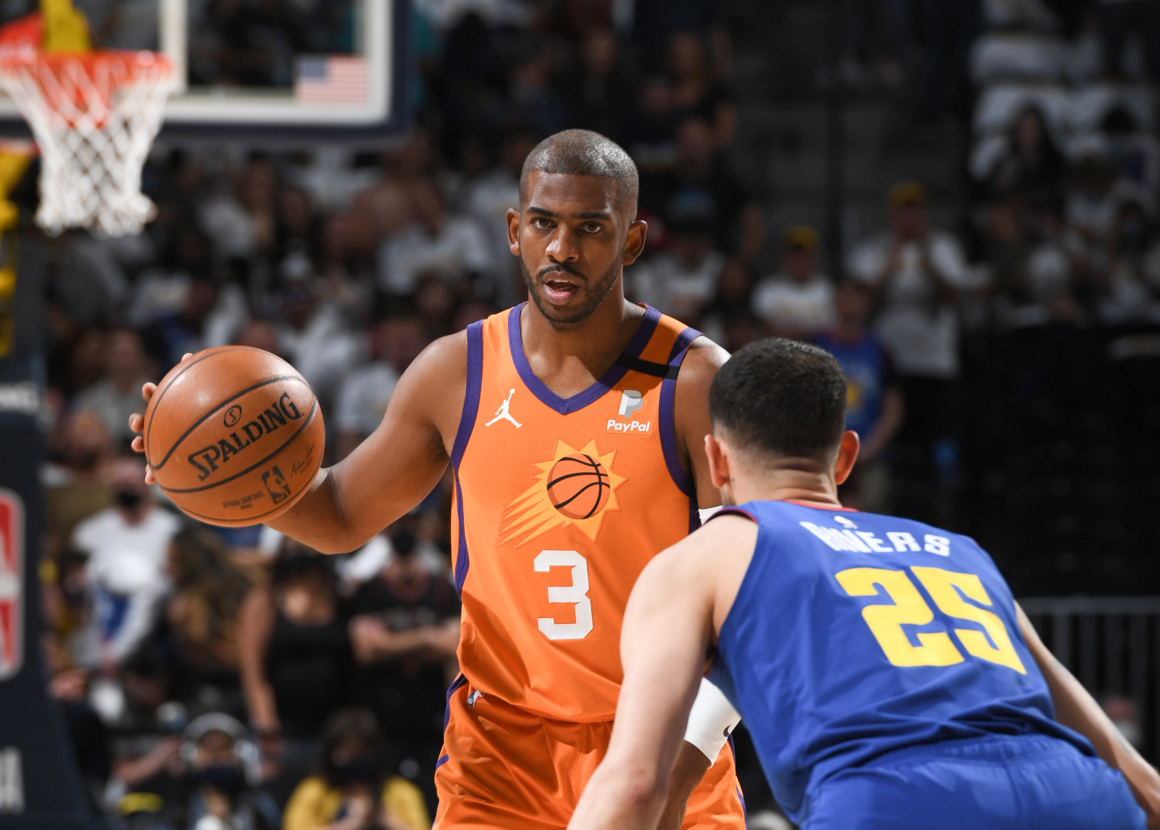 Suns eye sweep of Nuggets, West finals berth