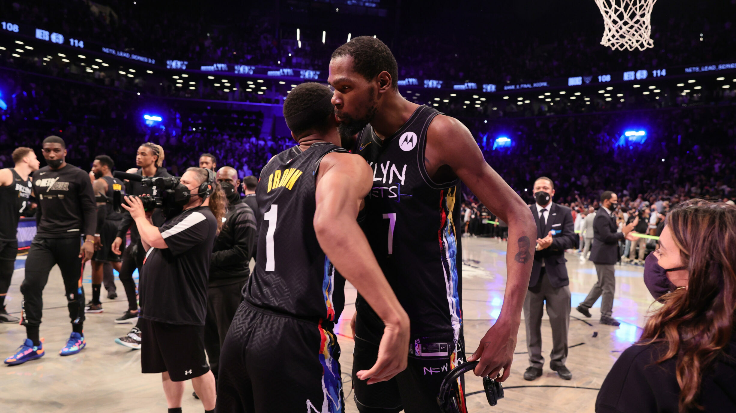 Durant's epic performance rallies Nets to Game 5 win