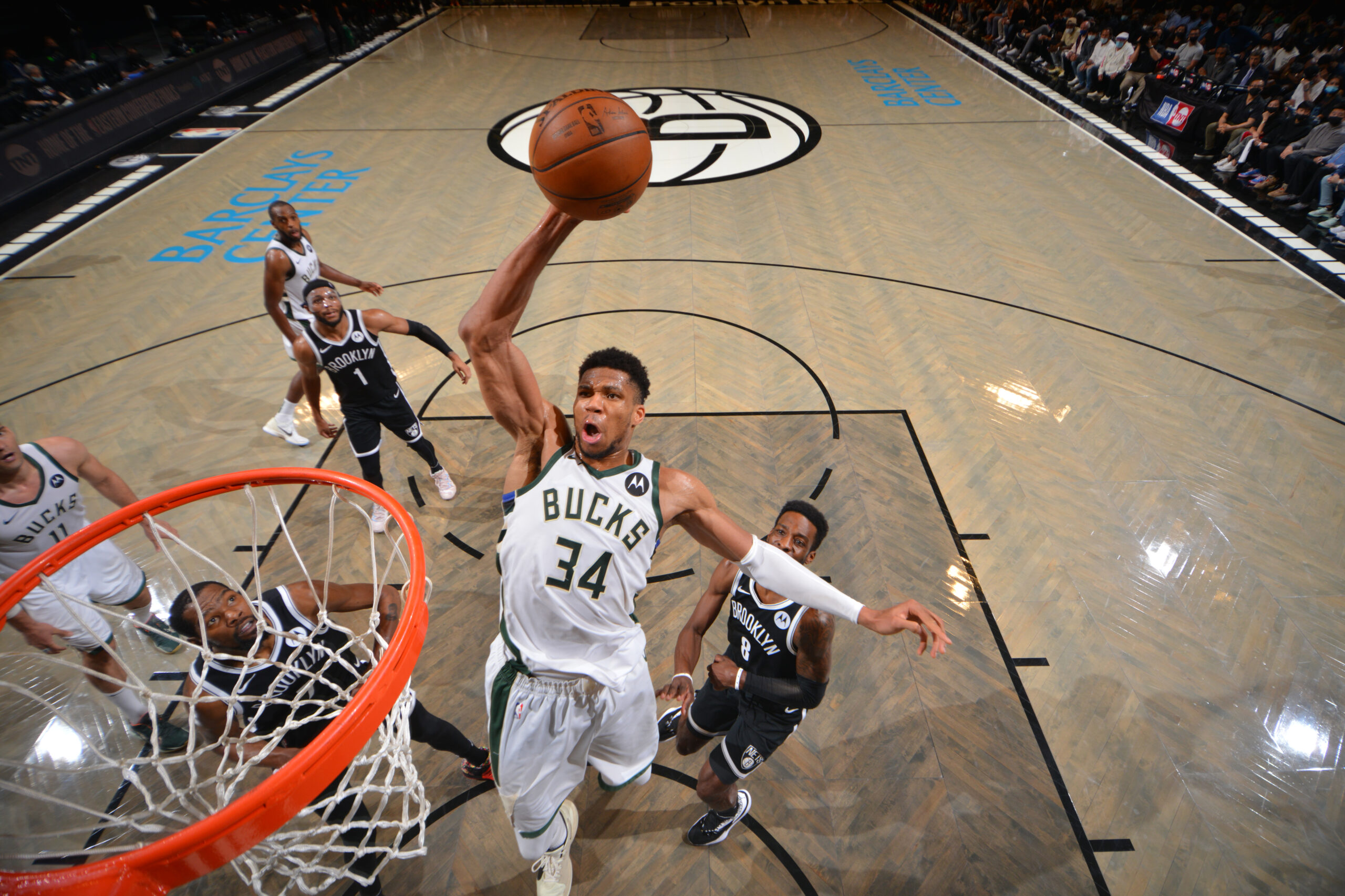 Bucks eliminate Nets with overtime road victory in Game 7
