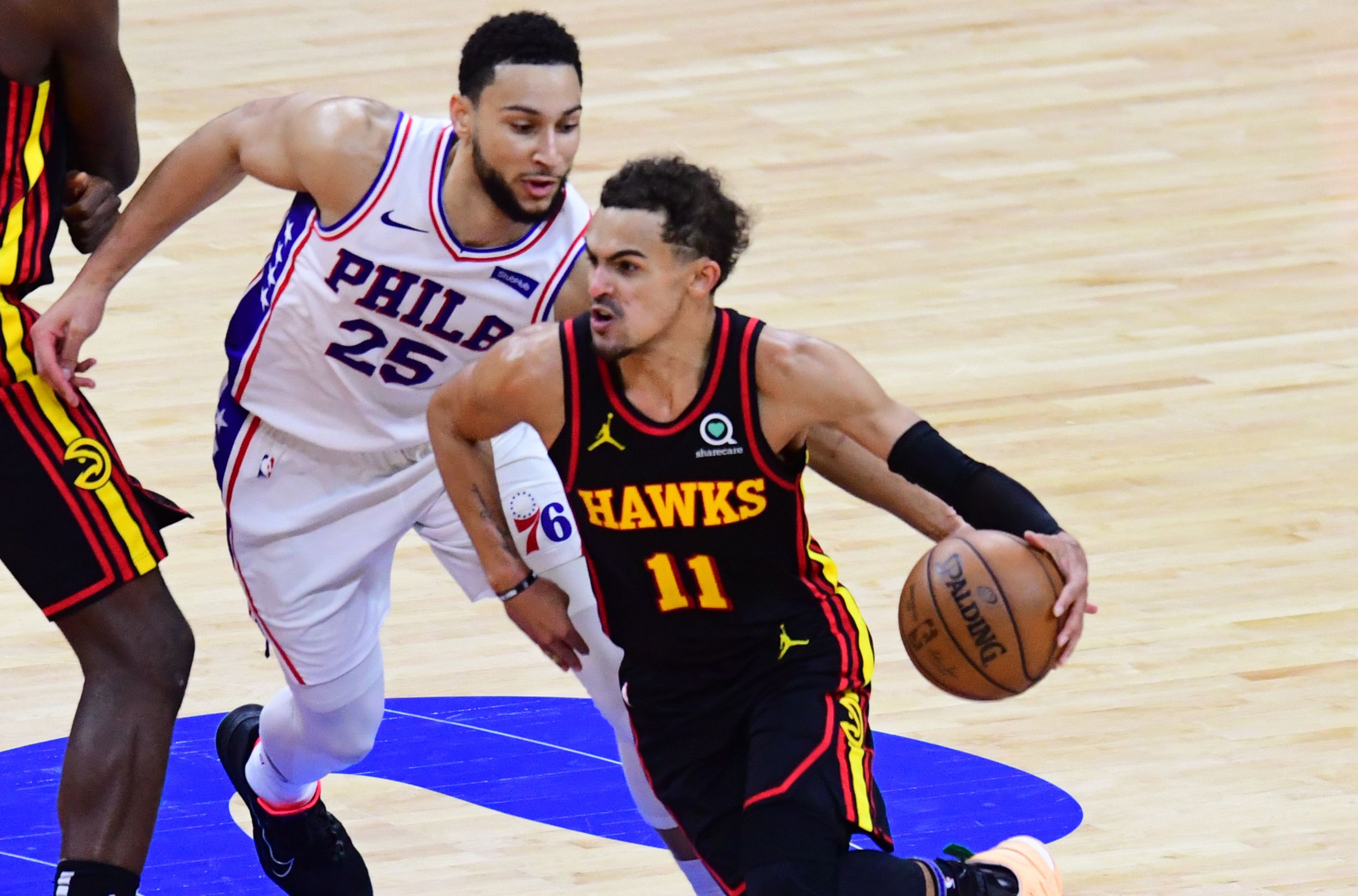 Hawks topple top-seeded 76ers, advance to East finals
