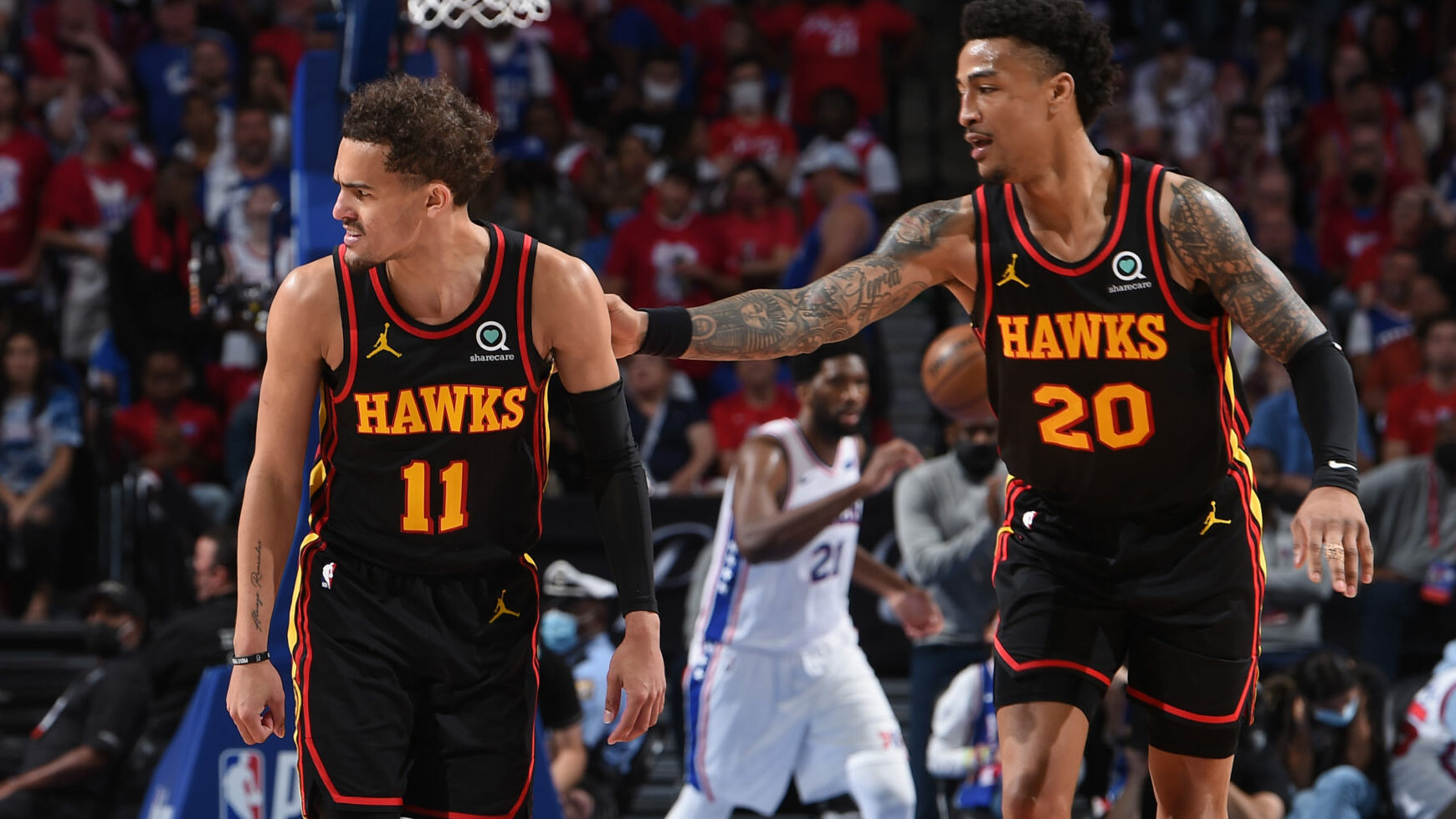 Kevin Huerter, Trae Young find a way for Hawks in 4th