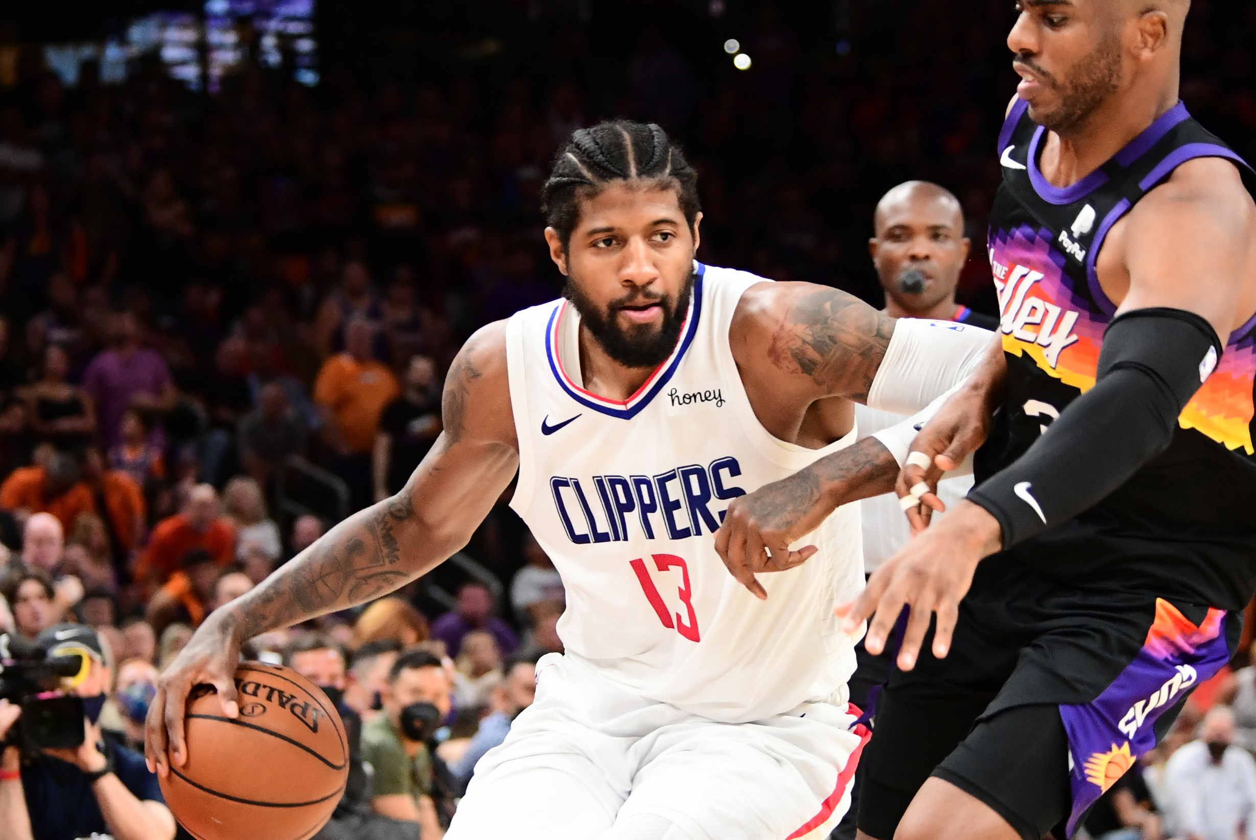 George, Clippers keep Suns at bay to force Game 6