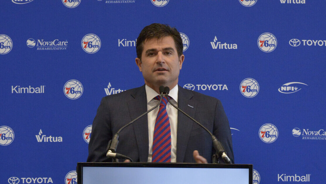 Sixers announce exit of longtime CEO Scott O'Neil