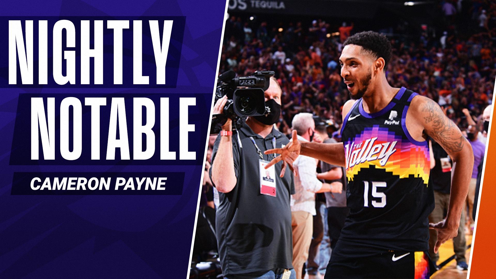 Nightly Notable: Cameron Payne | June 22