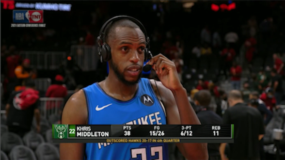 Khris Middleton on 20-point closer: 'Finally started dropping for me at the right time'