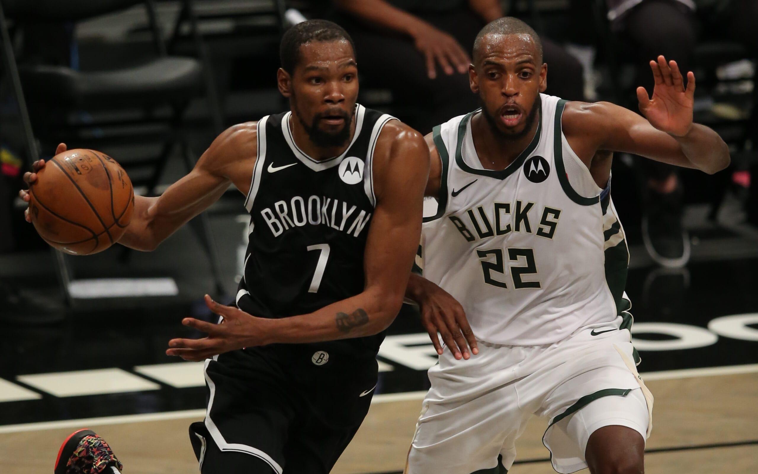Nets overcome Harden injury, take Game 1