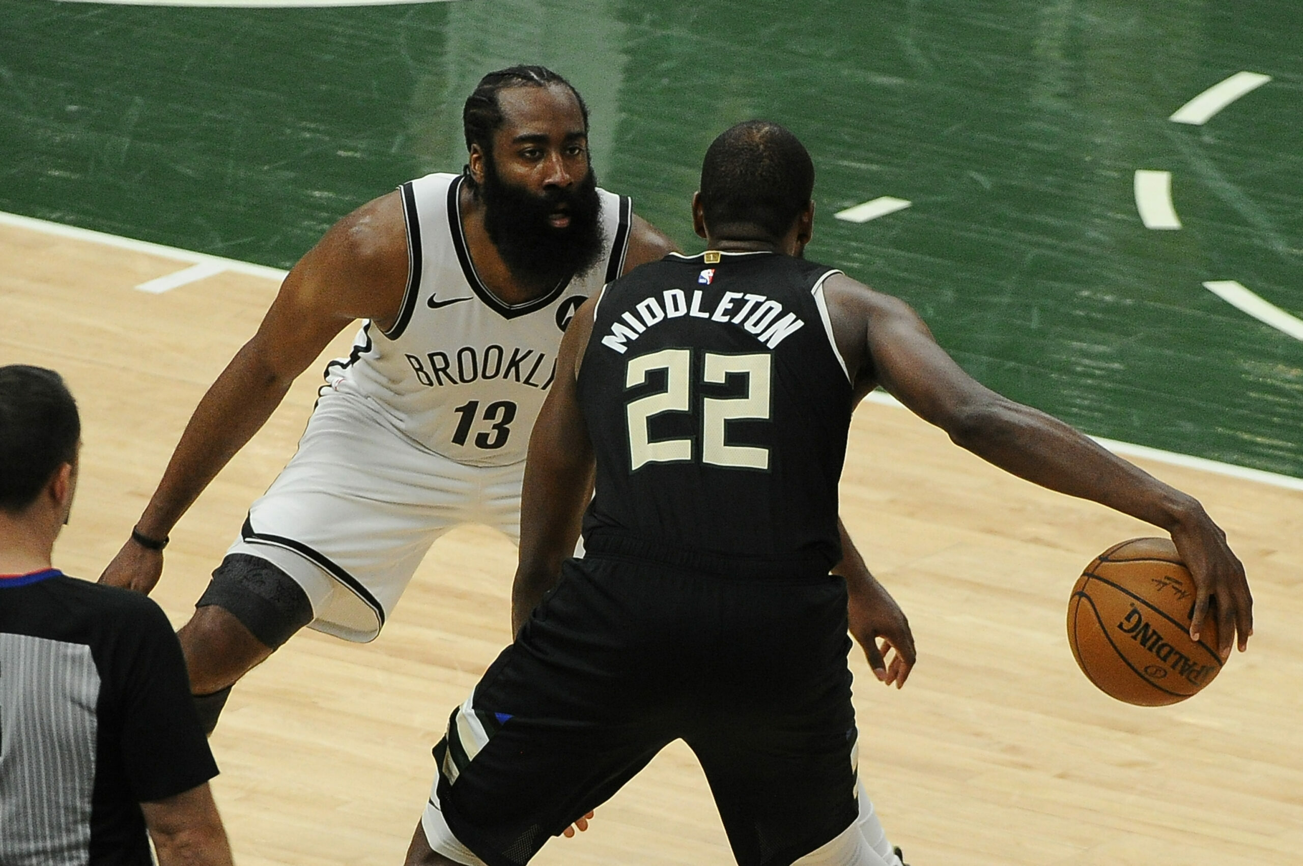 With Bucks' season on the line, Middleton answers call