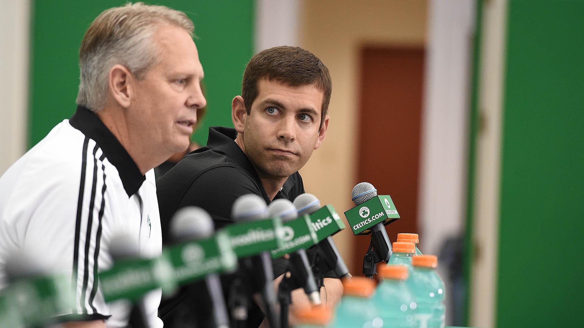 Brad Stevens adjusting to new role with Celtics, mum on new coach