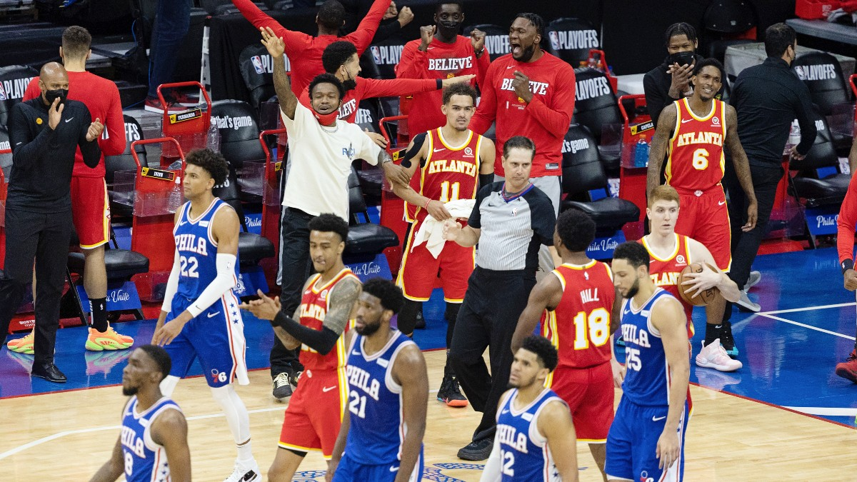 All-Access: Hawks stun 76ers with epic comeback in Game 5