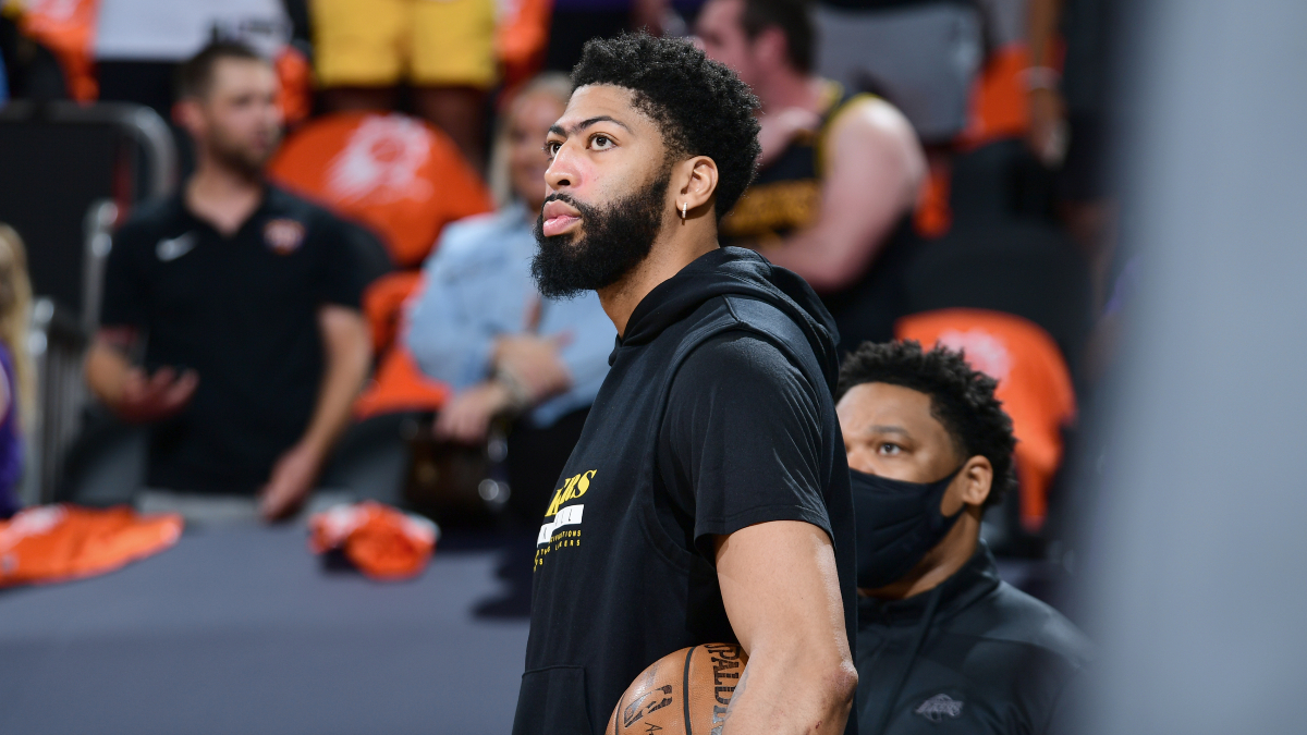 Lakers rule out Anthony Davis for pivotal Game 5