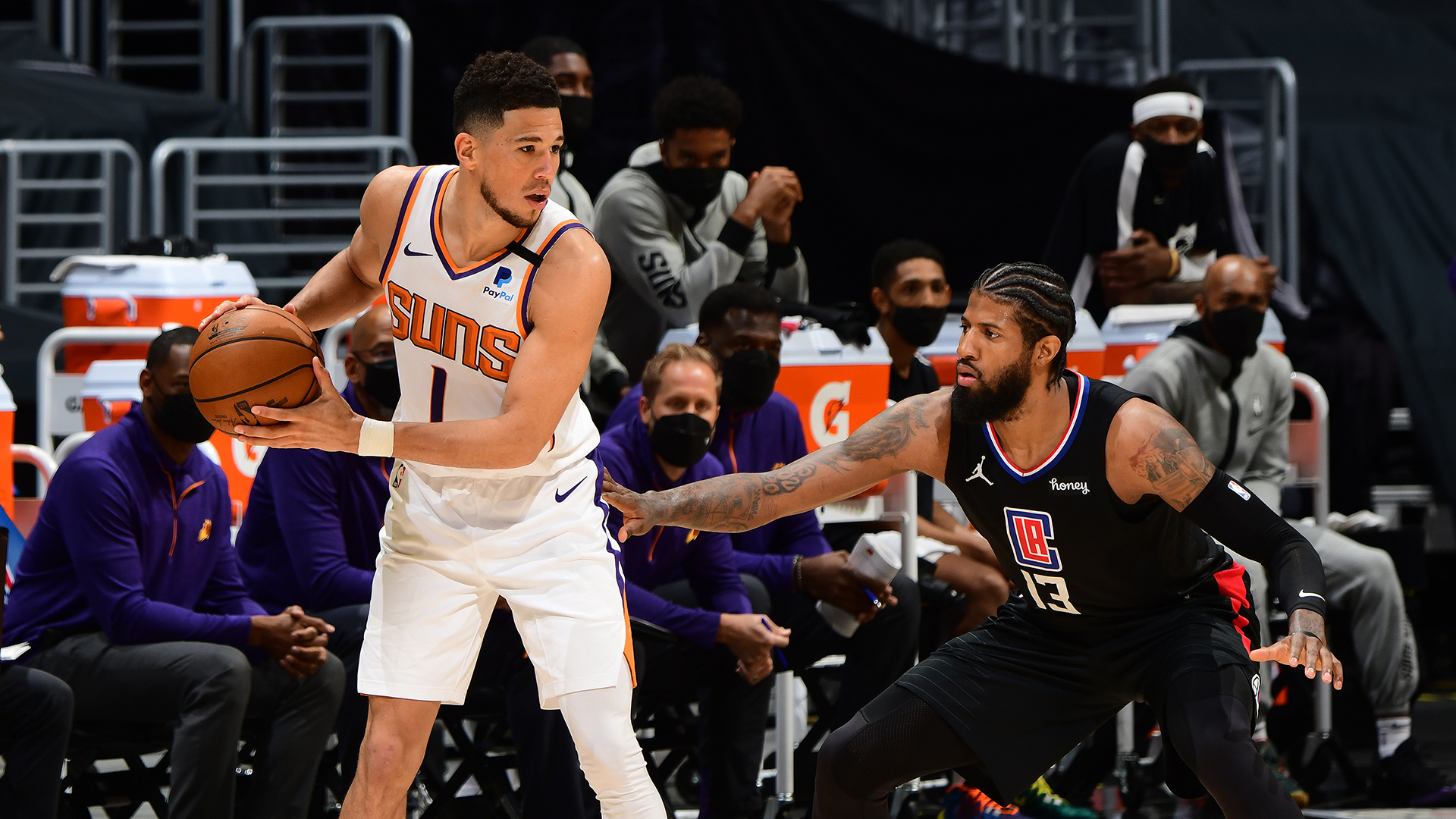 Surging Suns, confident Clippers clash in West finals