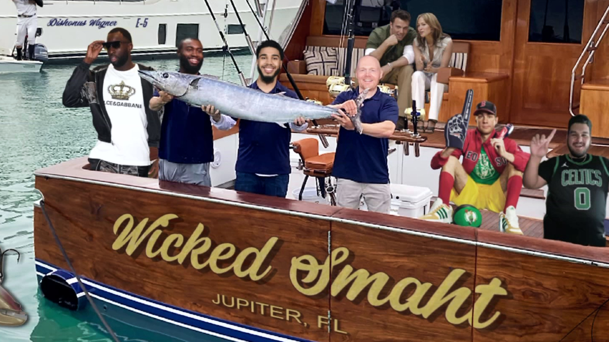 Every Gone Fishin' from the 2021 NBA playoffs