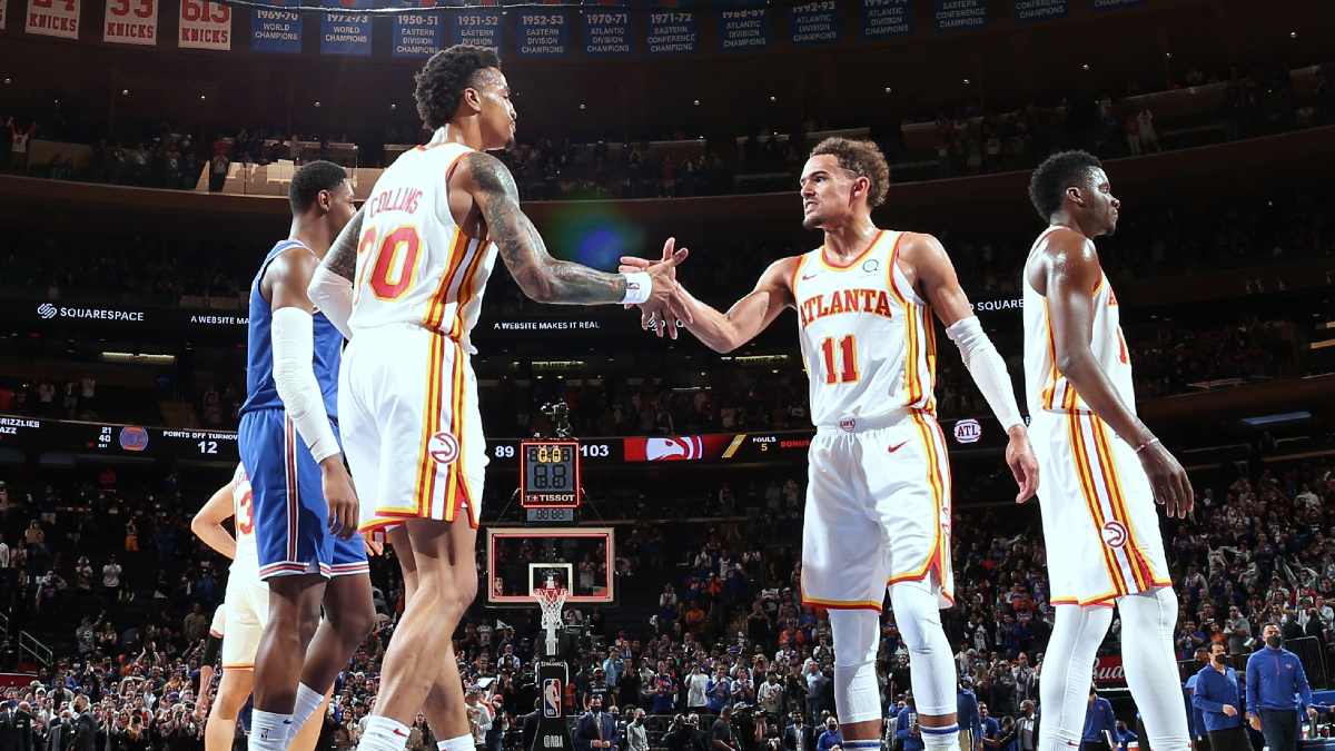 Young, Hawks close out Knicks in Game 5
