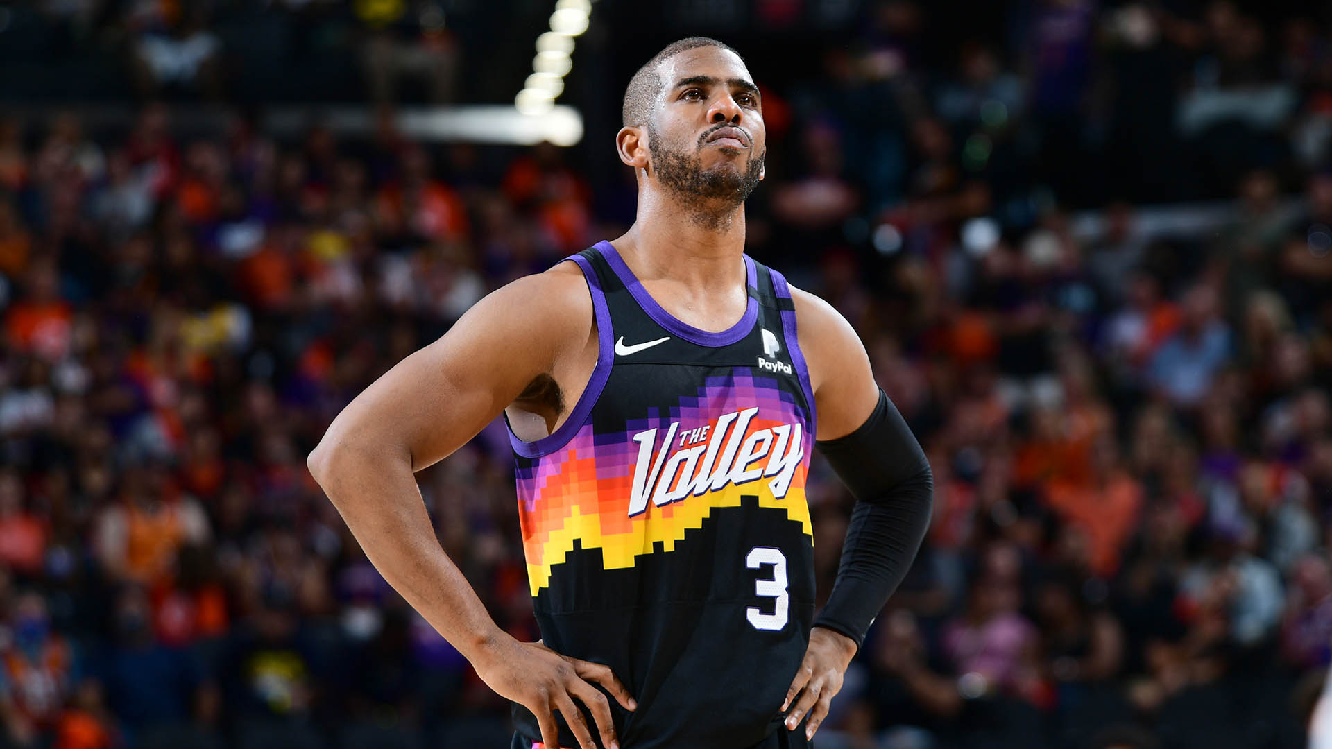 Reports: Chris Paul in protocols, status for West finals unclear