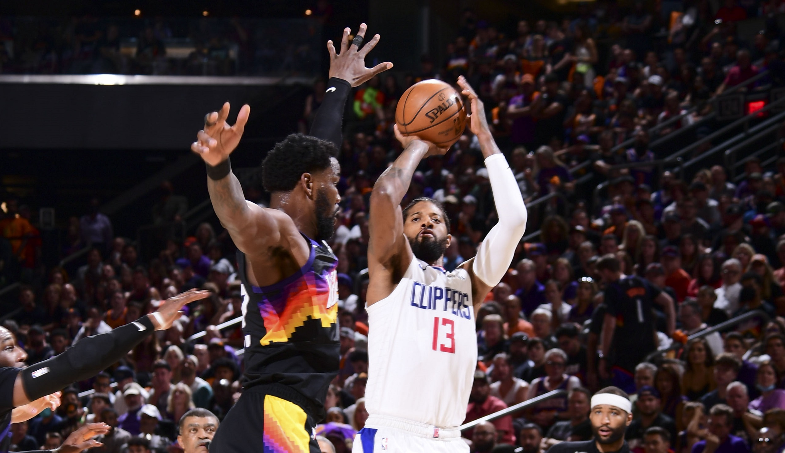 George's 34 not enough for Clippers in Game 1