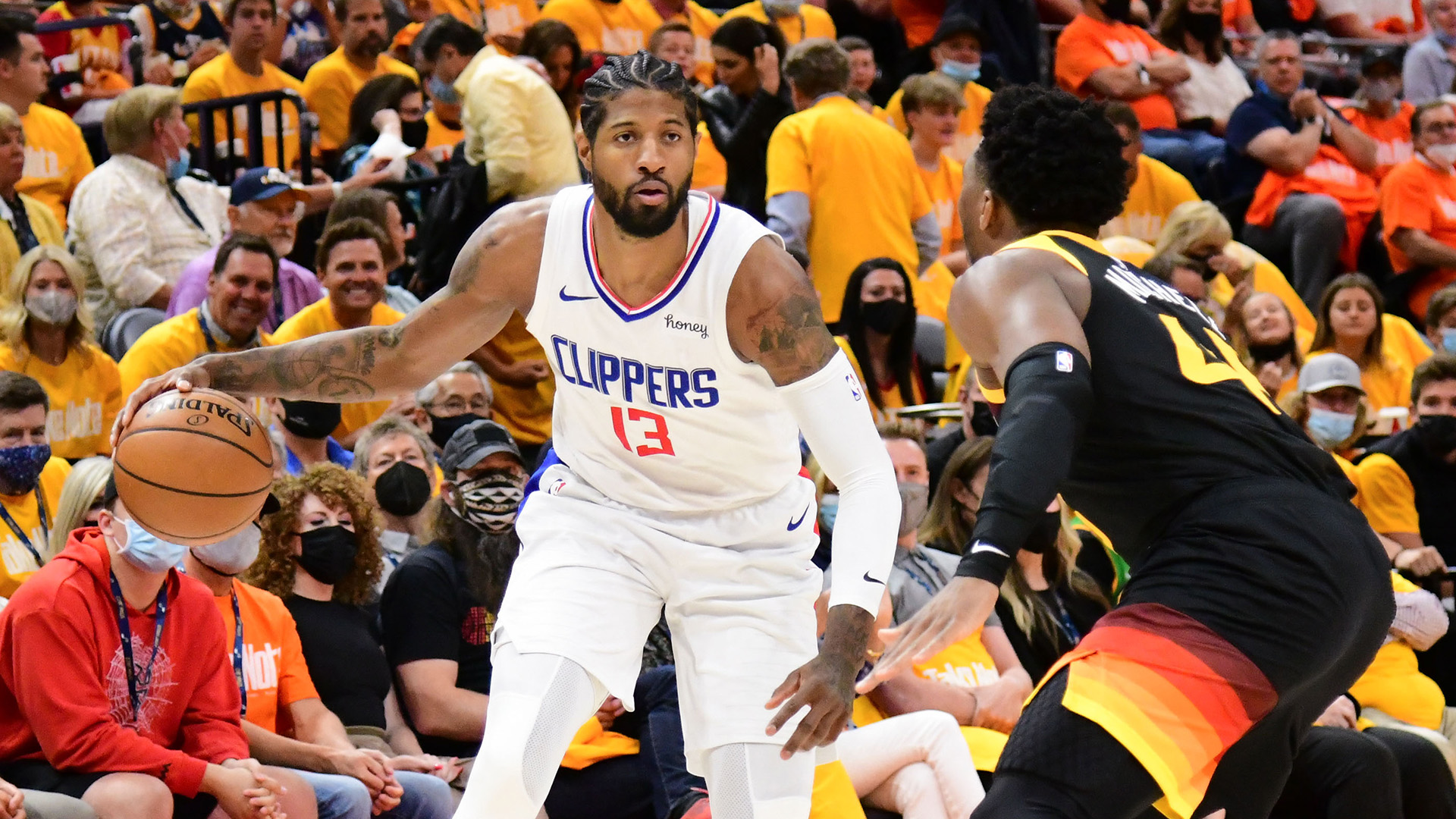 Jazz look for series edge against Kawhi-less Clippers