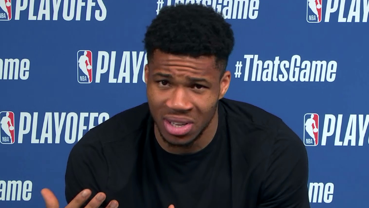 Giannis: 'We're built for this moment. Simple as that.'
