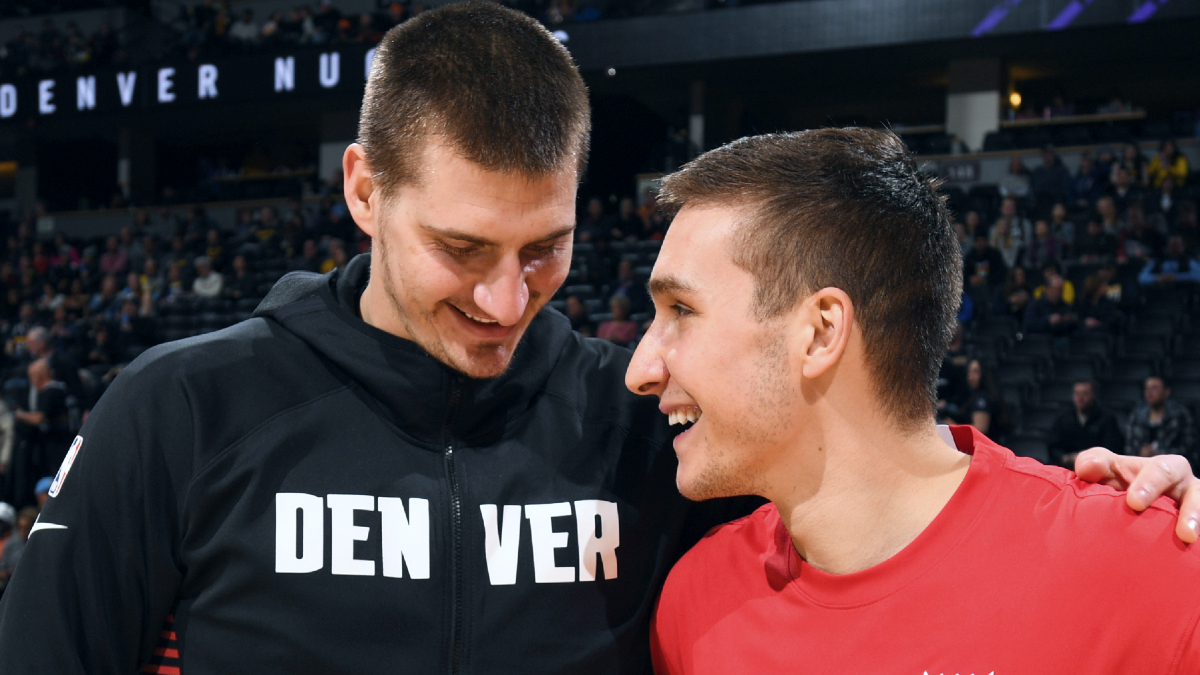 Serbian group chat to be 'on fire' after Nikola Jokic named Kia MVP