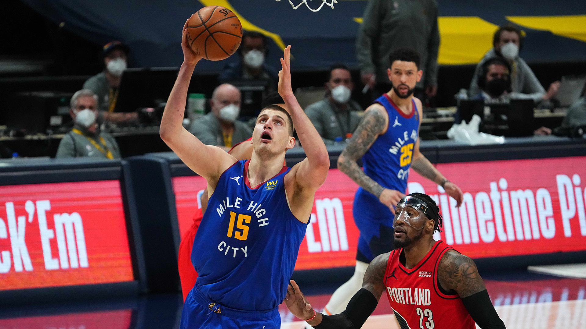 Nuggets hold off Trail Blazers in instant classic Game 5
