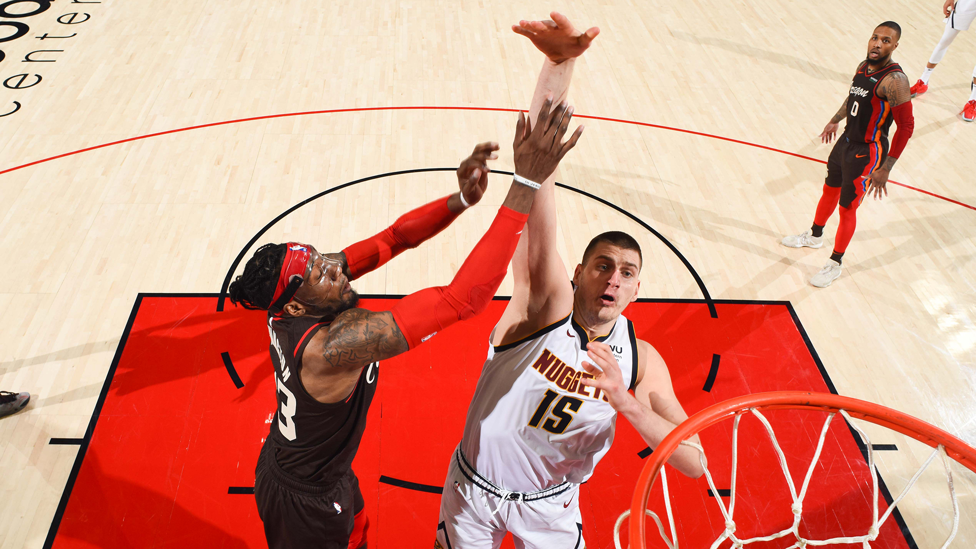 Nikola Jokic proves too big of a matchup issue for Trail Blazers
