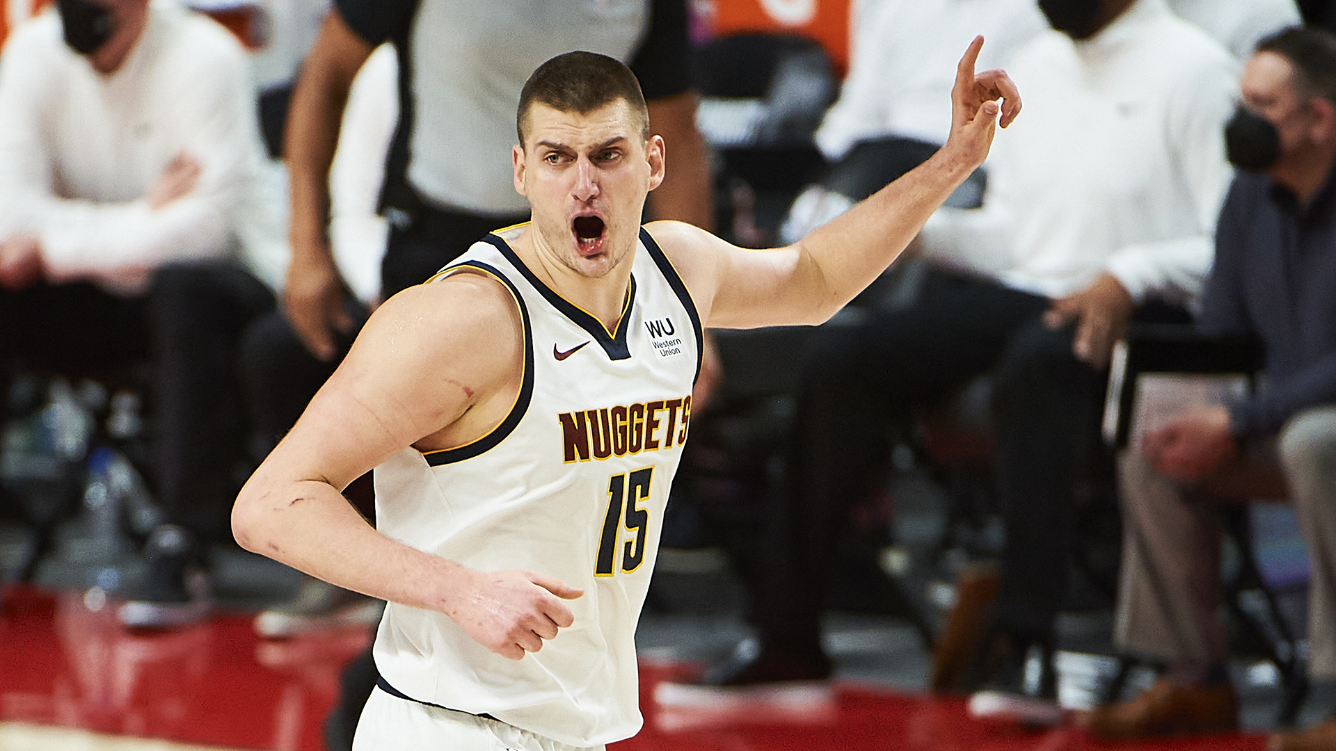 Nuggets use big run to take Game 6, advance to semifinals