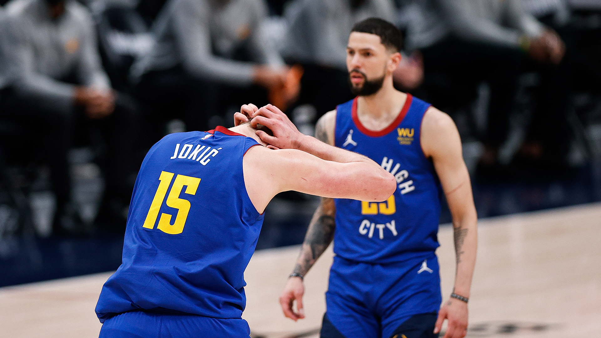 In 3-0 hole, history doesn't bode well for Nuggets