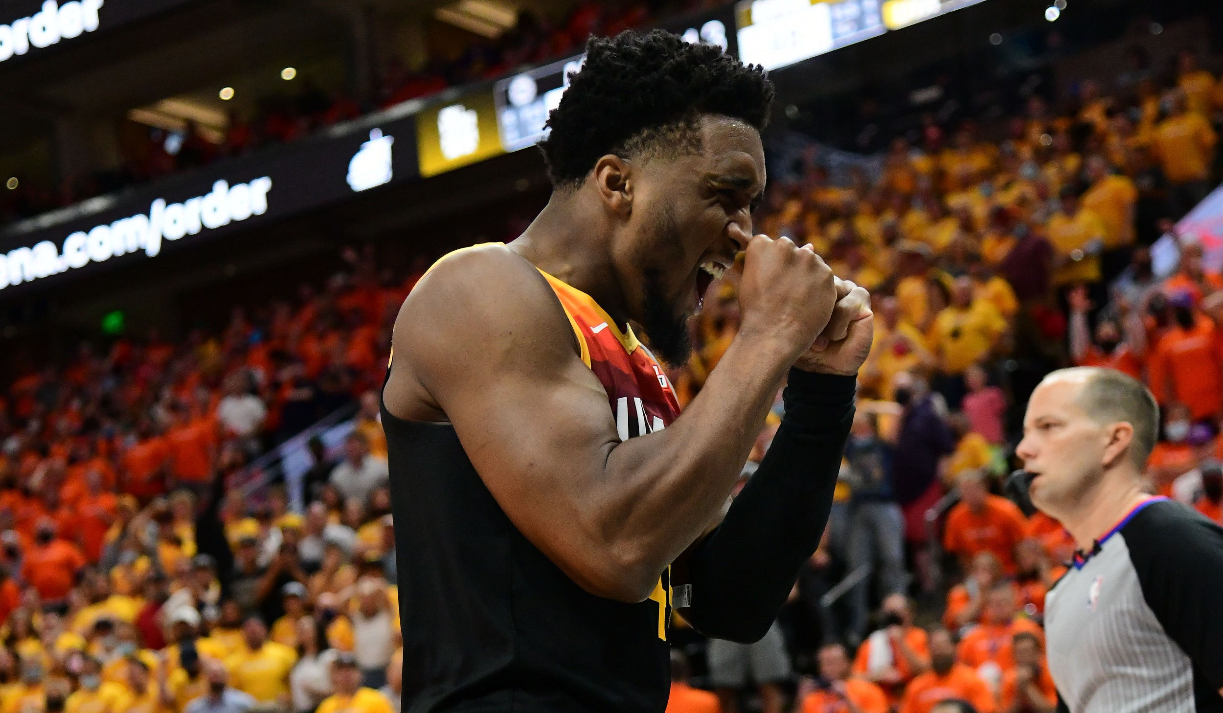 Utah Jazz guard Donovan Mitchell adds to playoff legend with monster Game 1